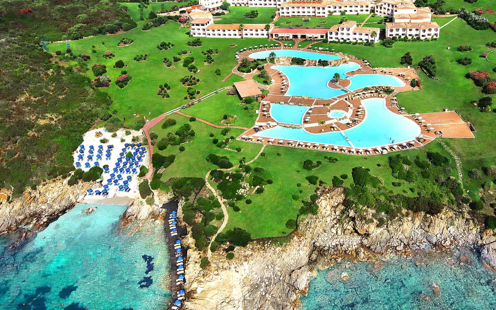 Colonna Resort aerial view