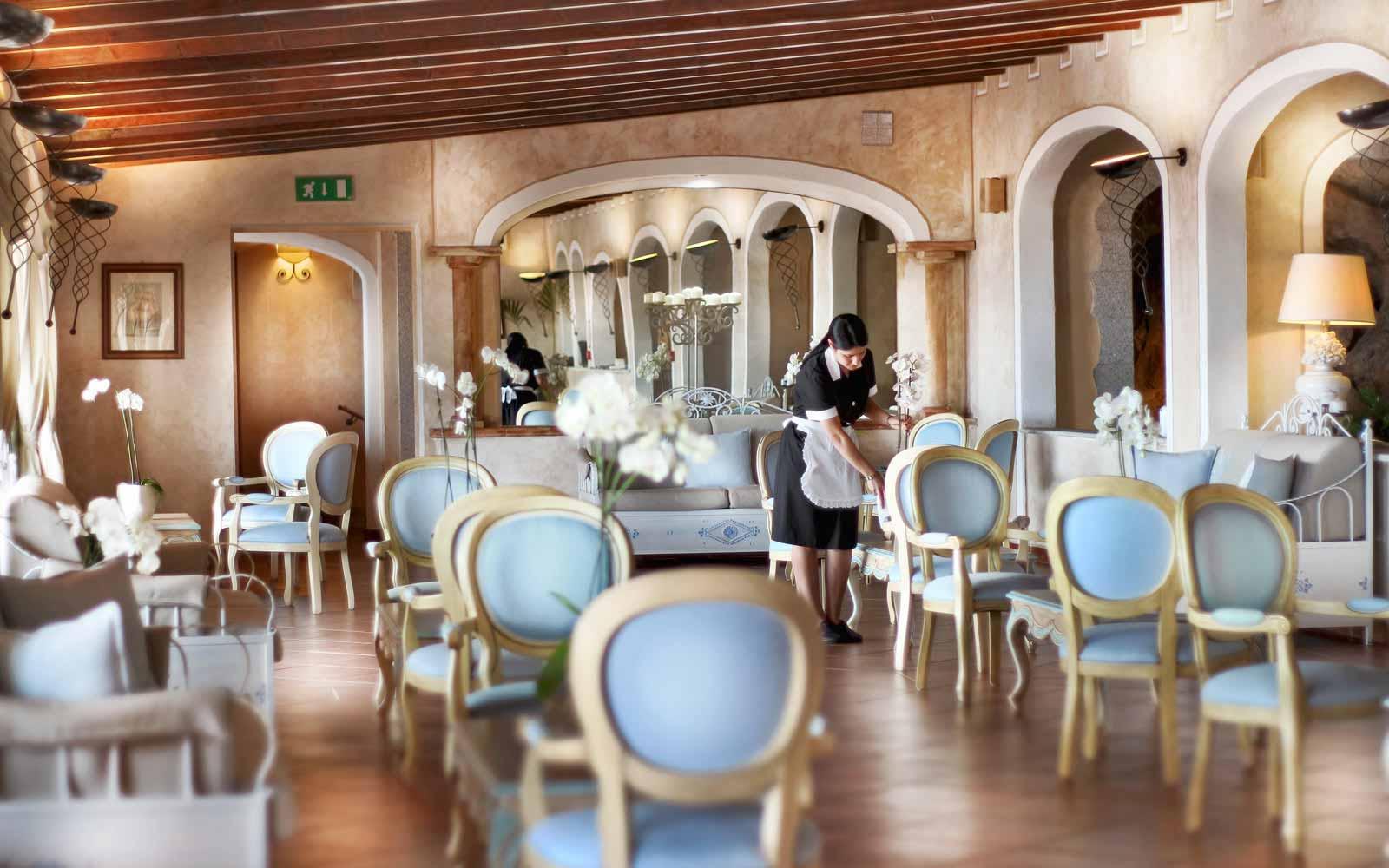 Hall at Colonna Resort