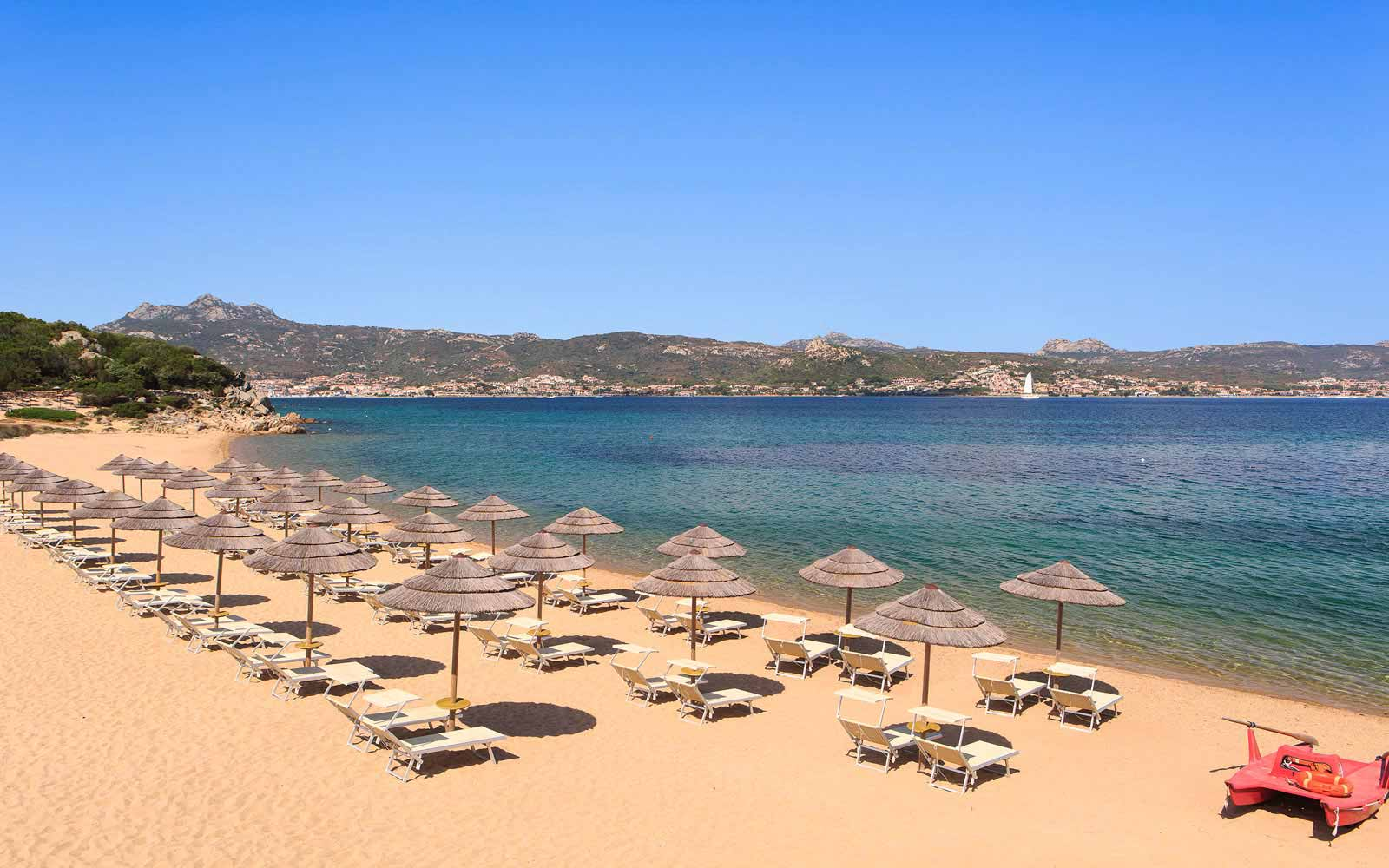 Beach at Hotel La Rocca Resort & Spa