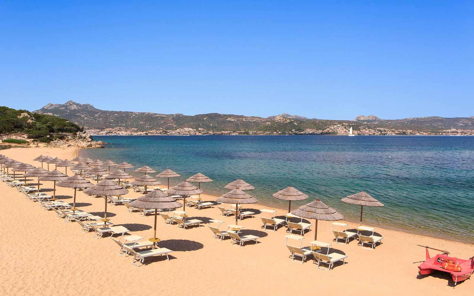 Beach at Hotel La Rocca Resort & Spa