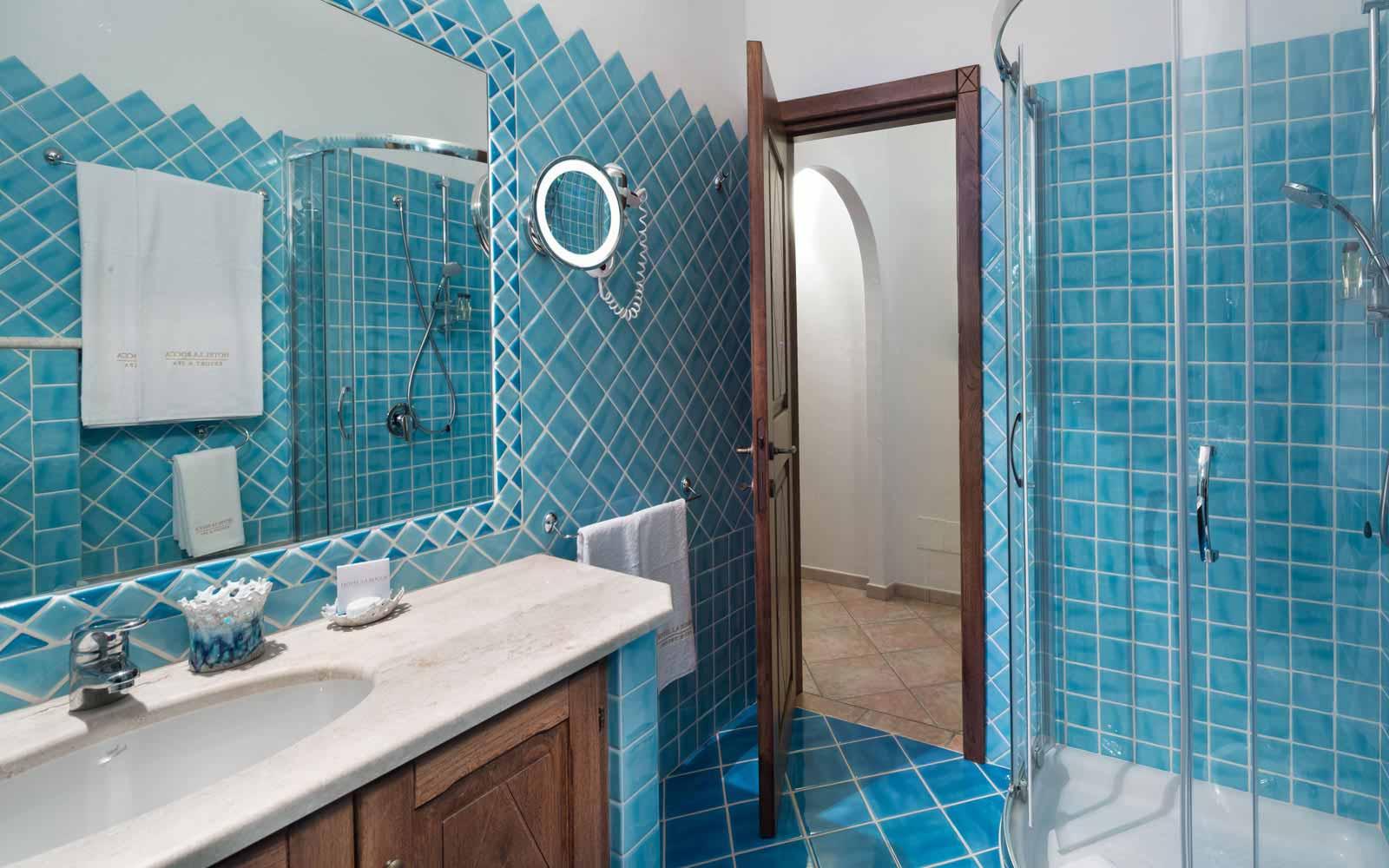 Bathroom at Hotel La Rocca Resort & Spa