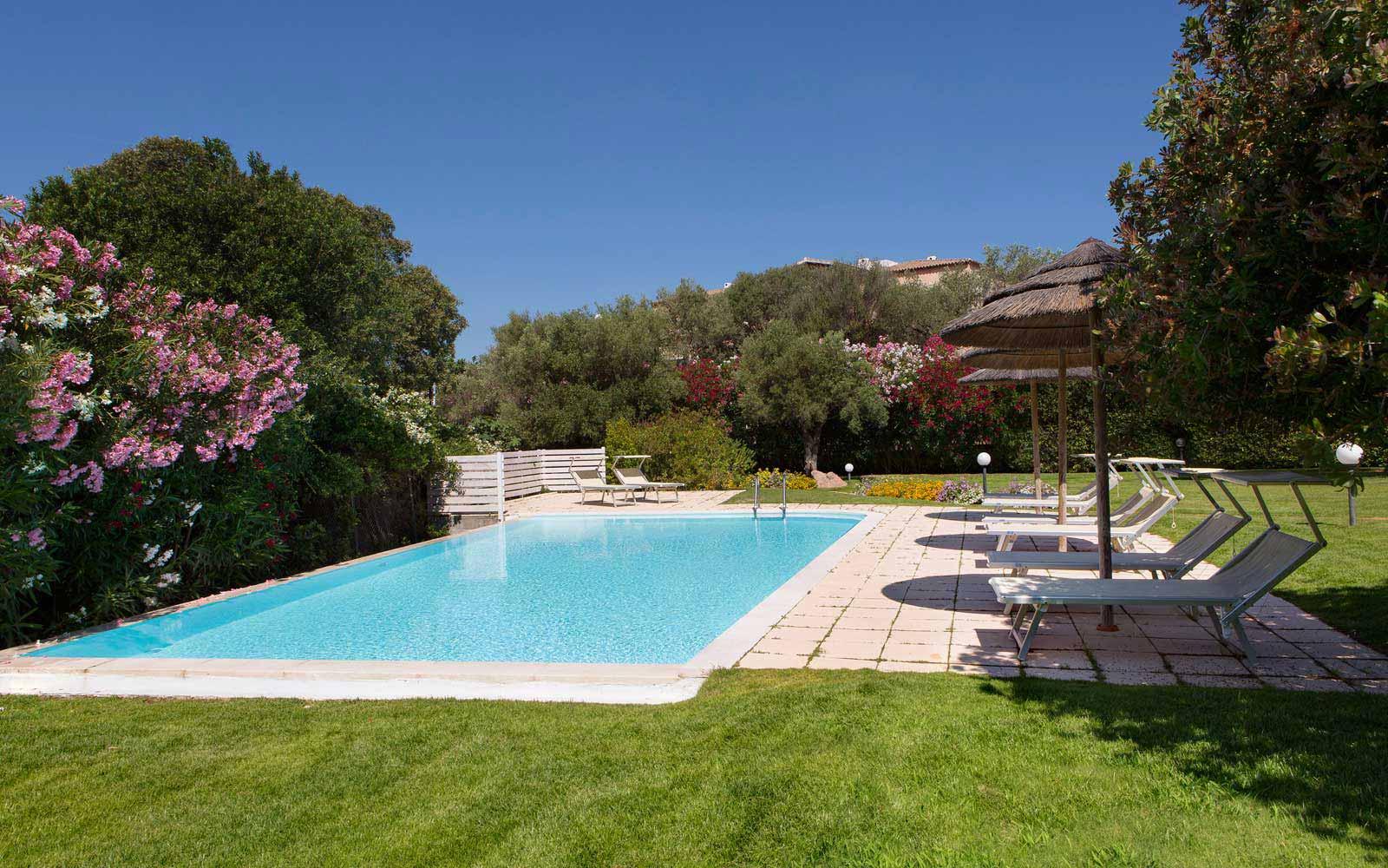 Private pool at Hotel La Rocca Resort & Spa