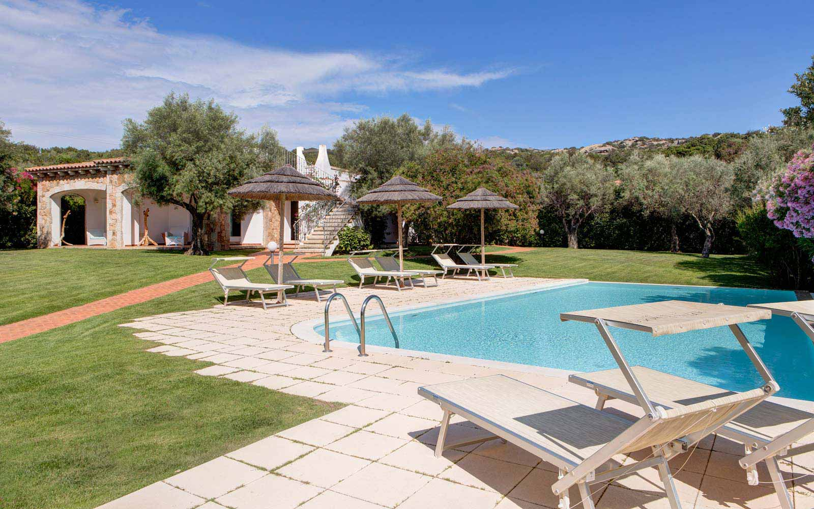 Pool at Hotel La Rocca Resort & Spa