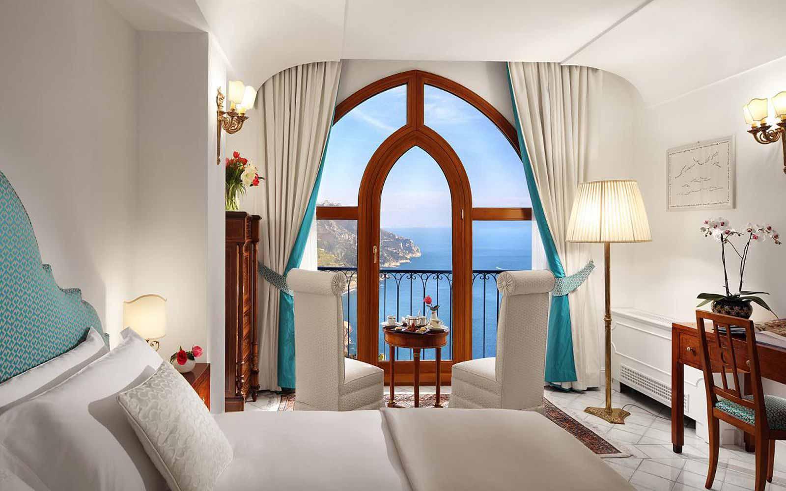 Double Room Sea View at Palazzo Avino