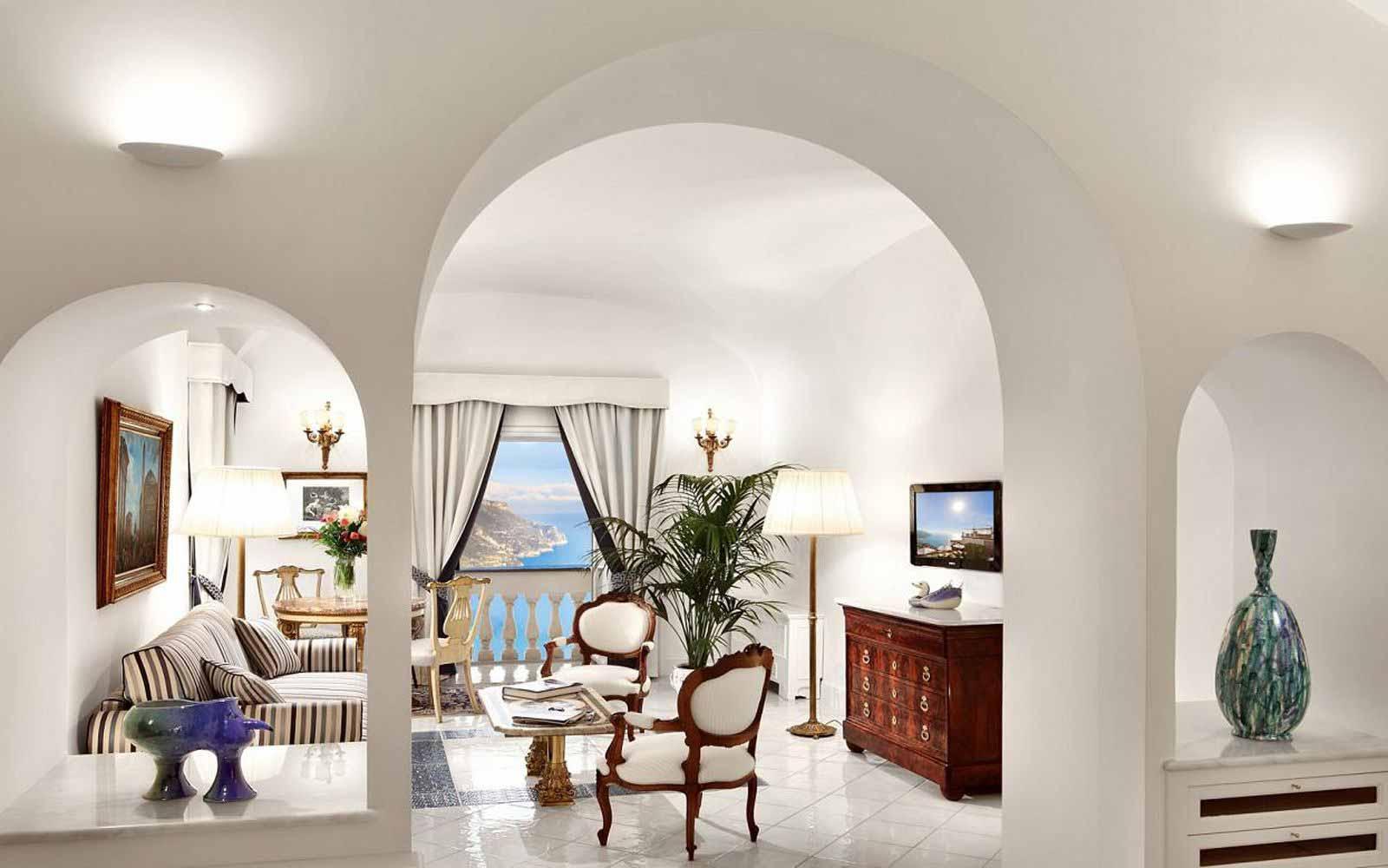 Superior Junior Suite at Palazzo Avino