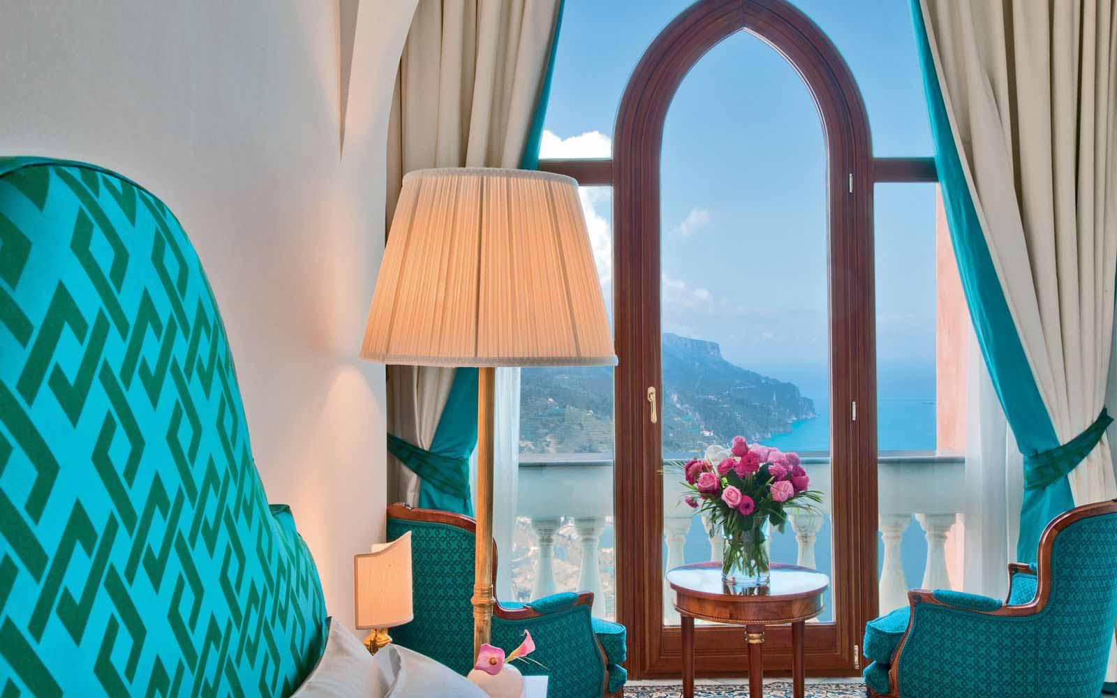 King Sea View Room at Palazzo Avino