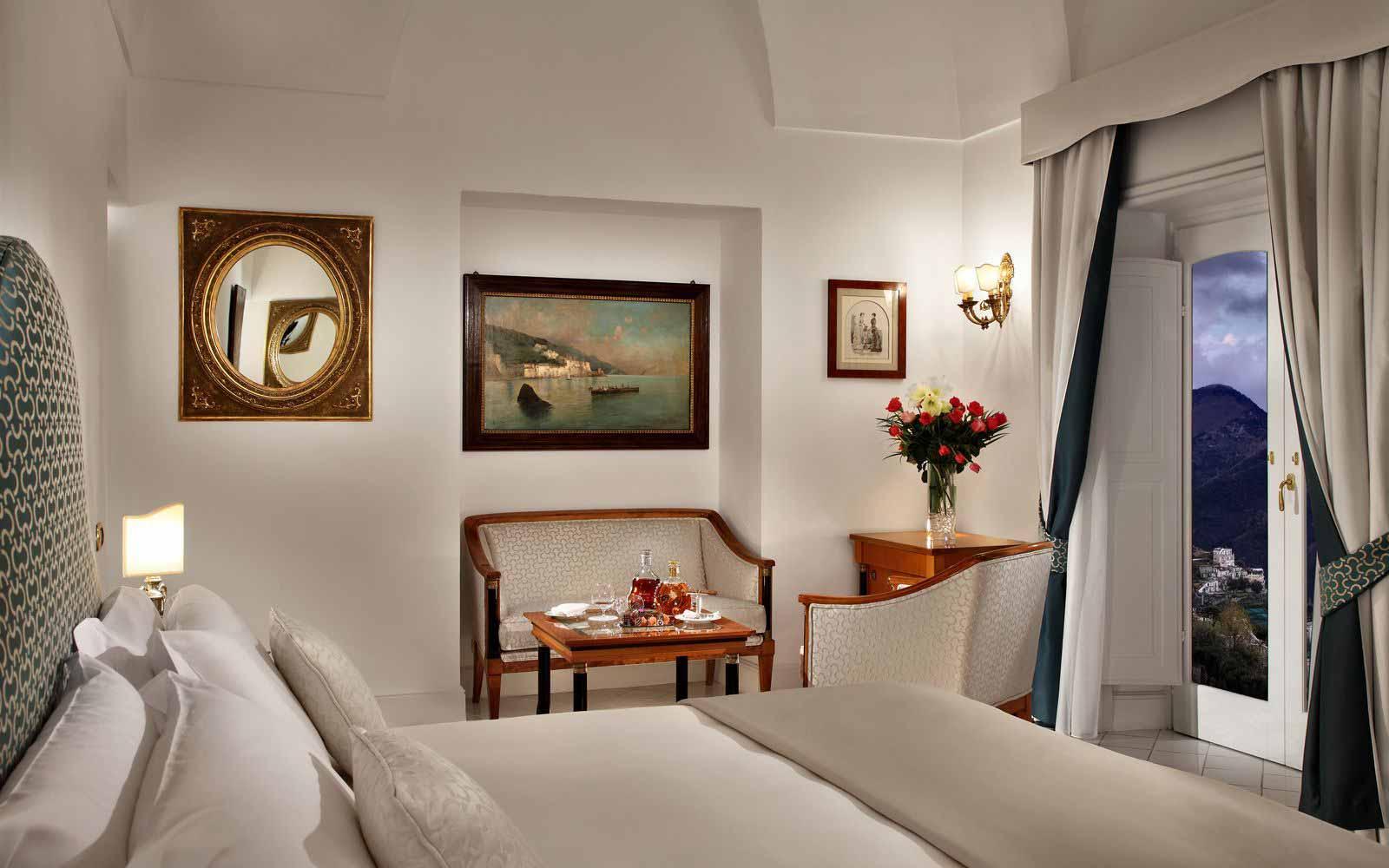 Junior Suite Room at Palazzo Avino