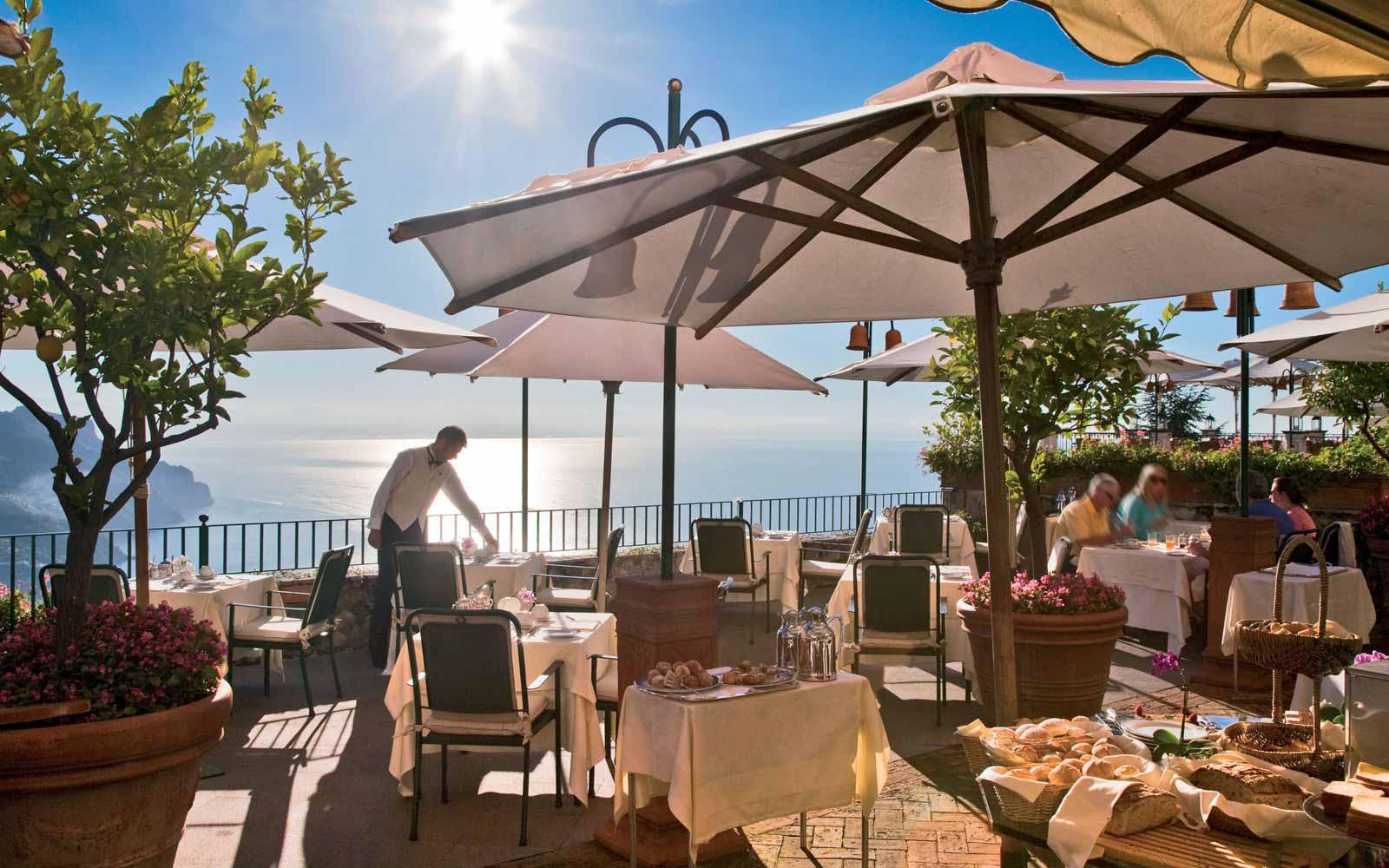 Breakfast at Palazzo Avino