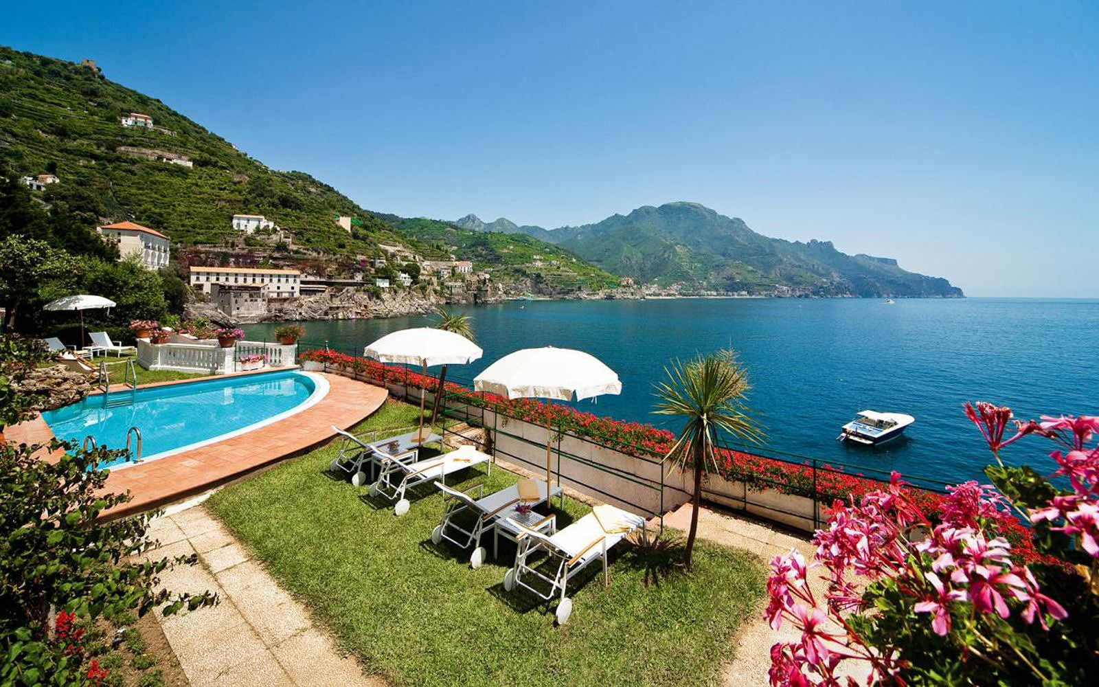 Club House Swimming Pool at Palazzo Avino