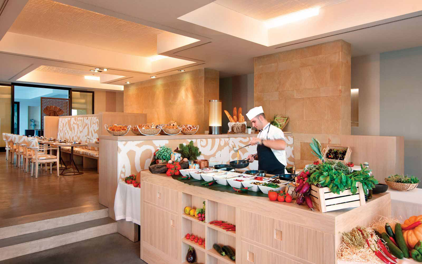 Verdura Resort Breakfast buffet