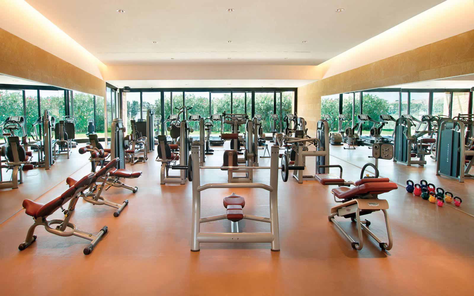 Gym at Verdura Resort