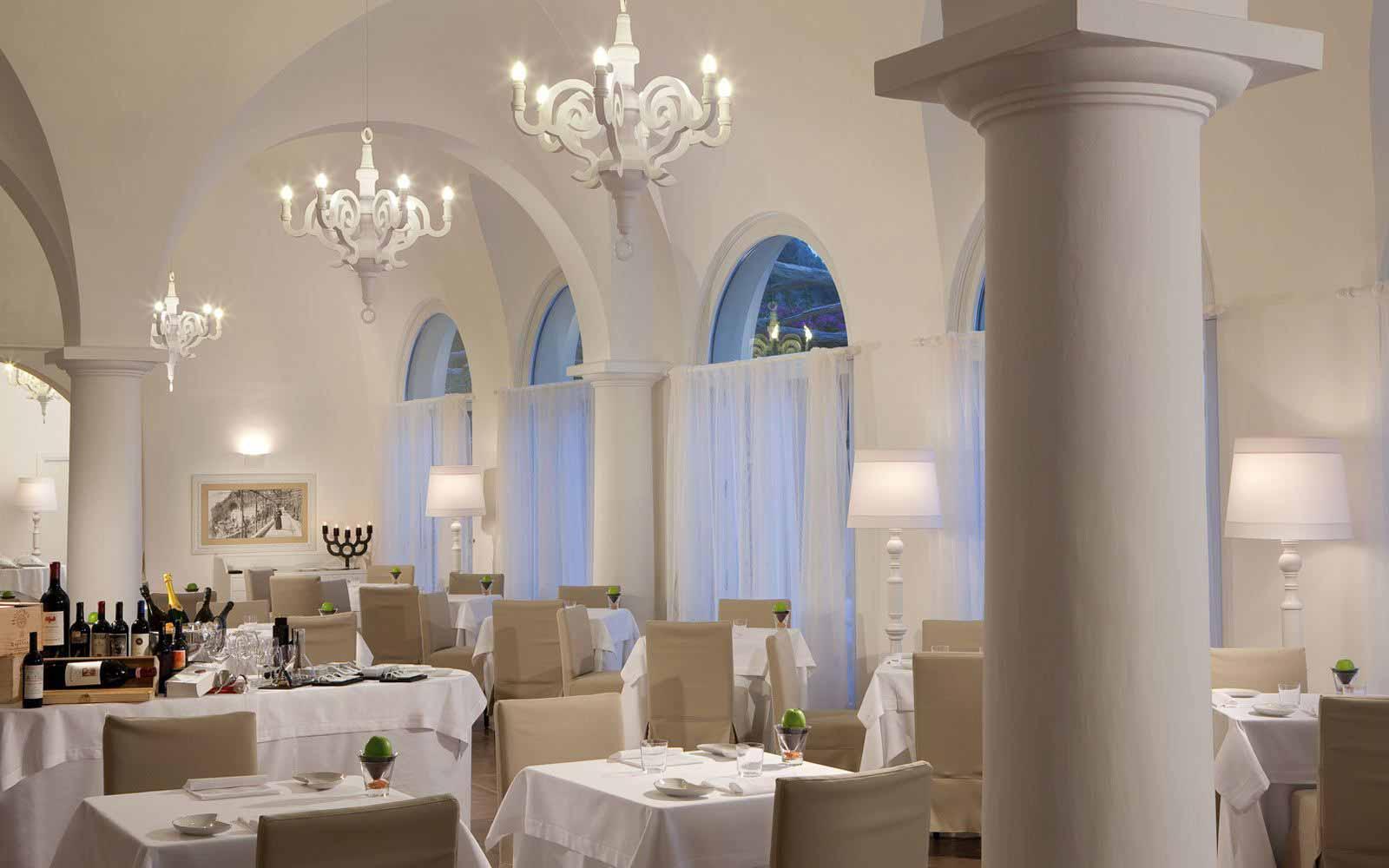 Dei Cappuccini Restaurant at NH Collection Grand Hotel Convento di Amalfi
