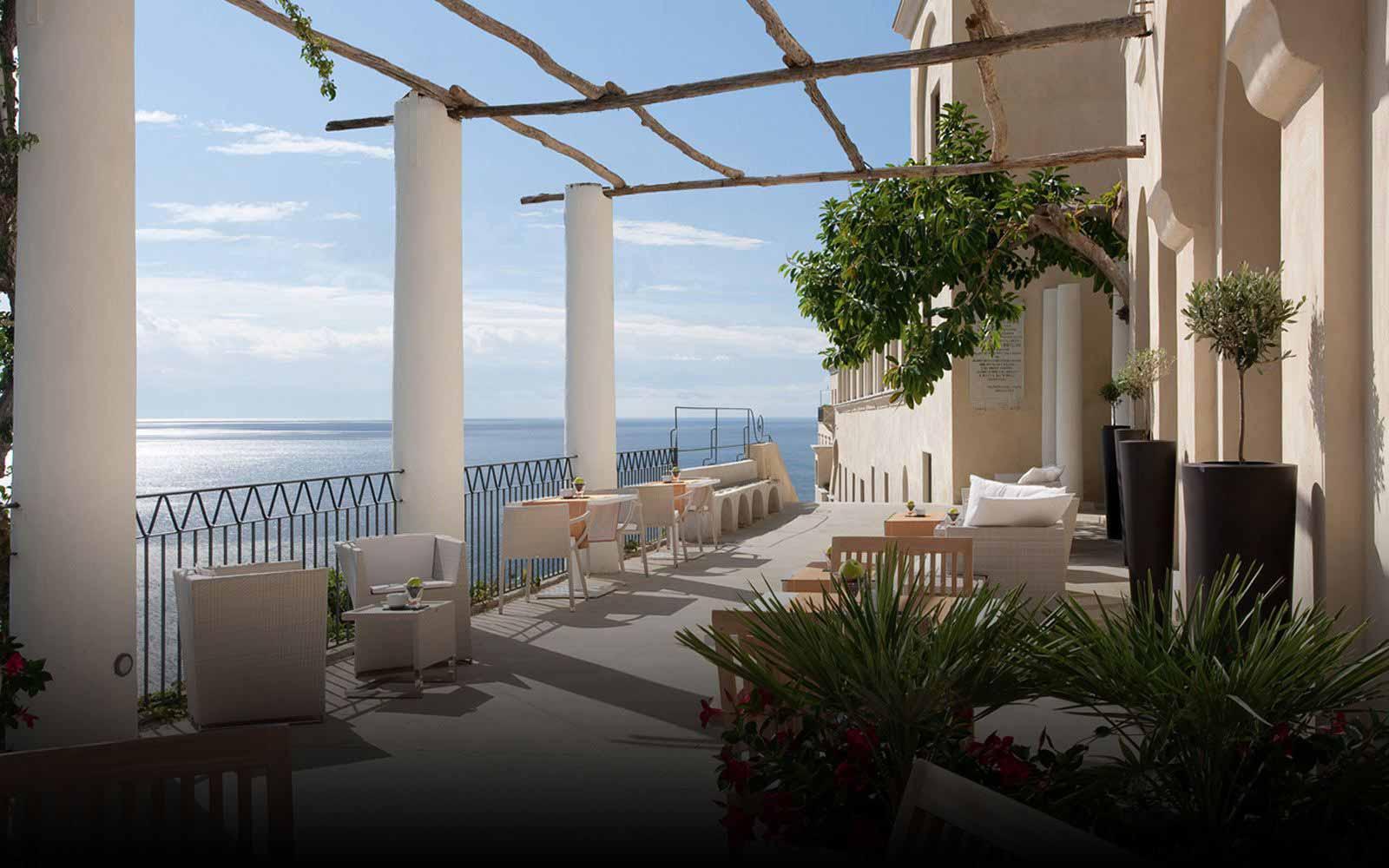 Terrace at NH Collection Grand Hotel Convento di Amalfi