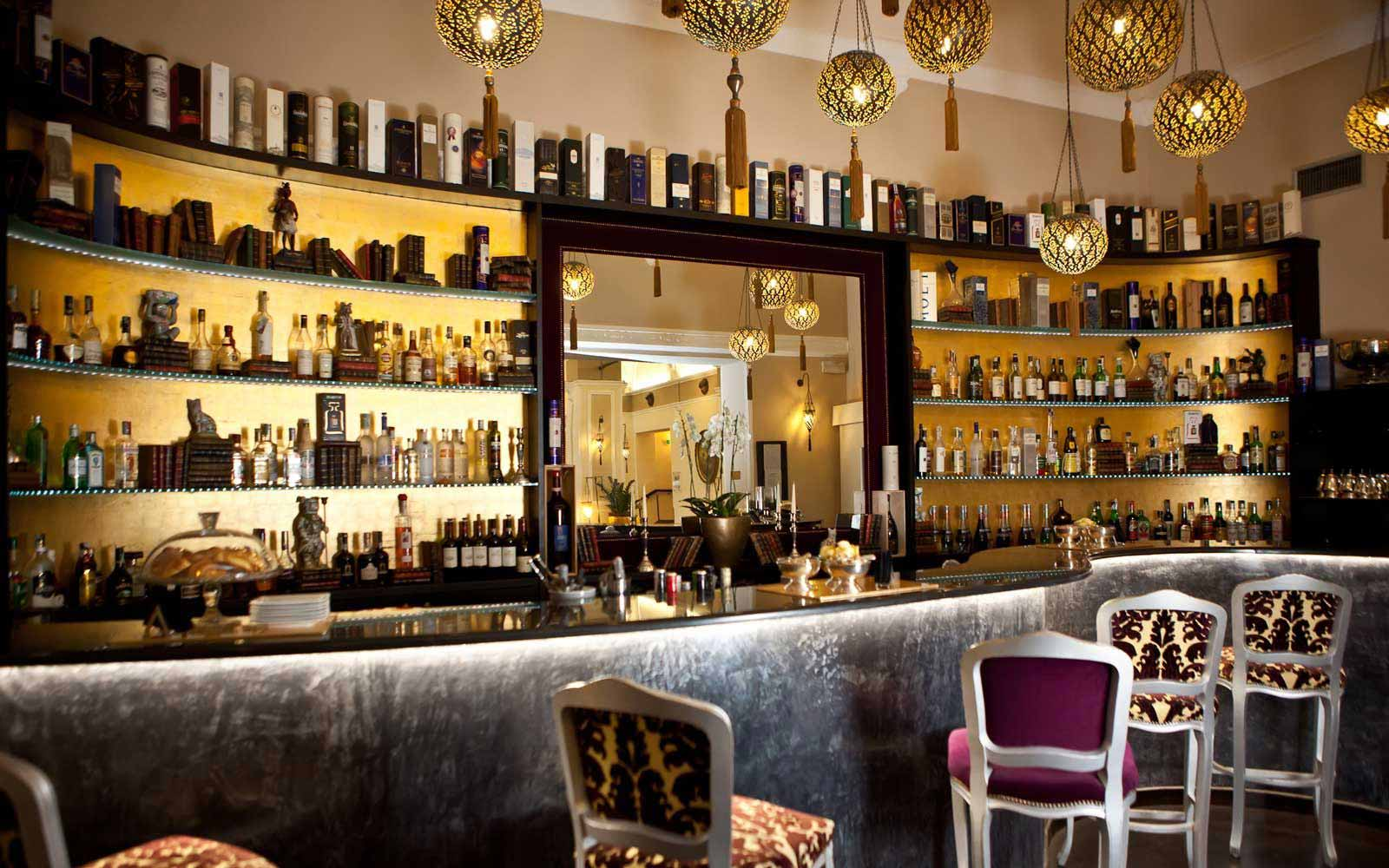 Bar at Hotel Bernini Palace