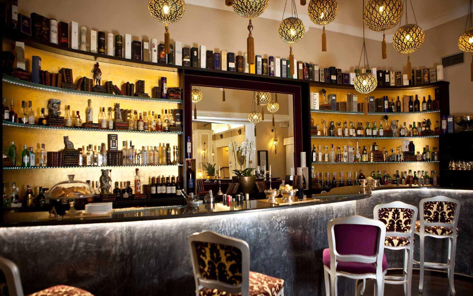 Bar at Hotel Bernini Palace