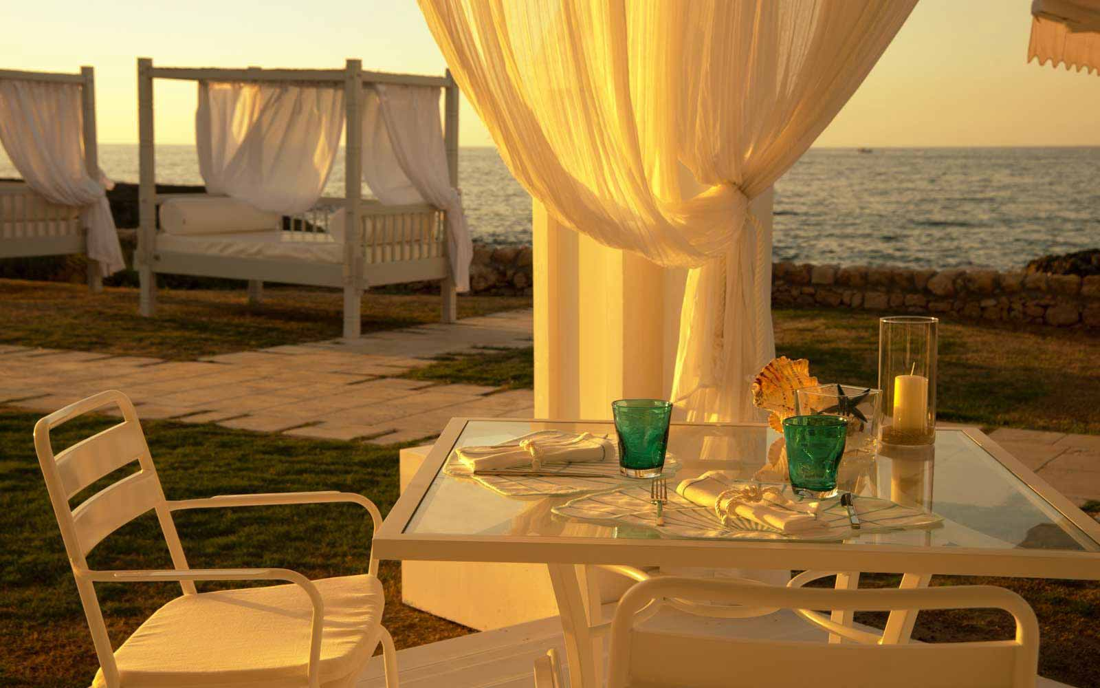 Dinning by the sea at Masseria San Domenico