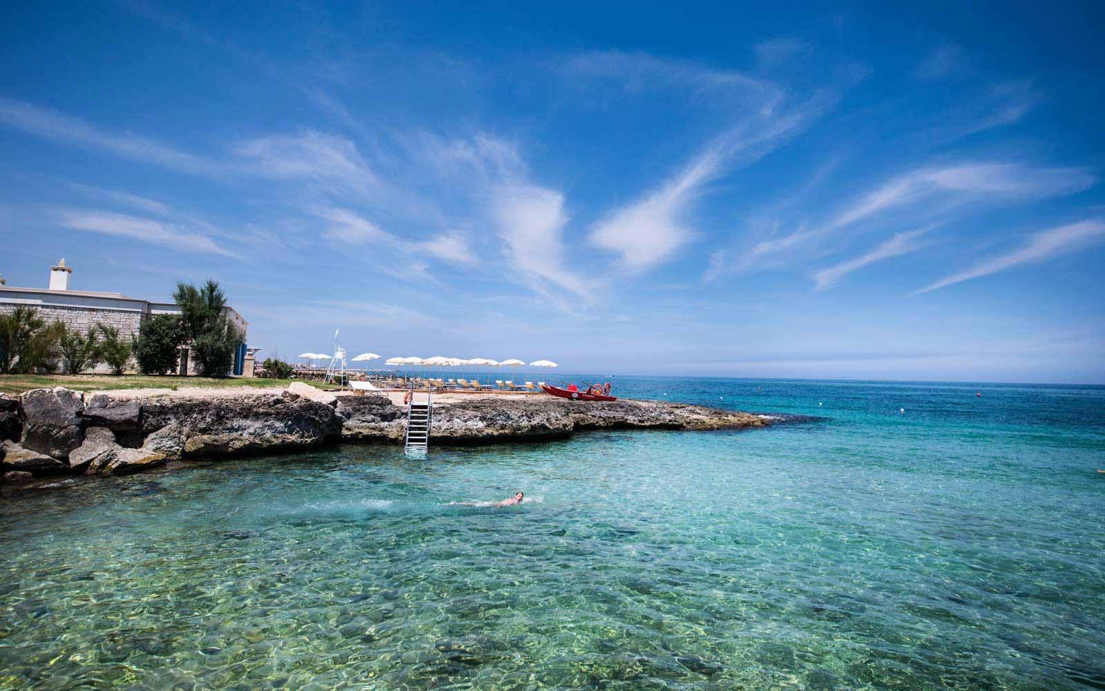 The sea by Masseria San Domenico