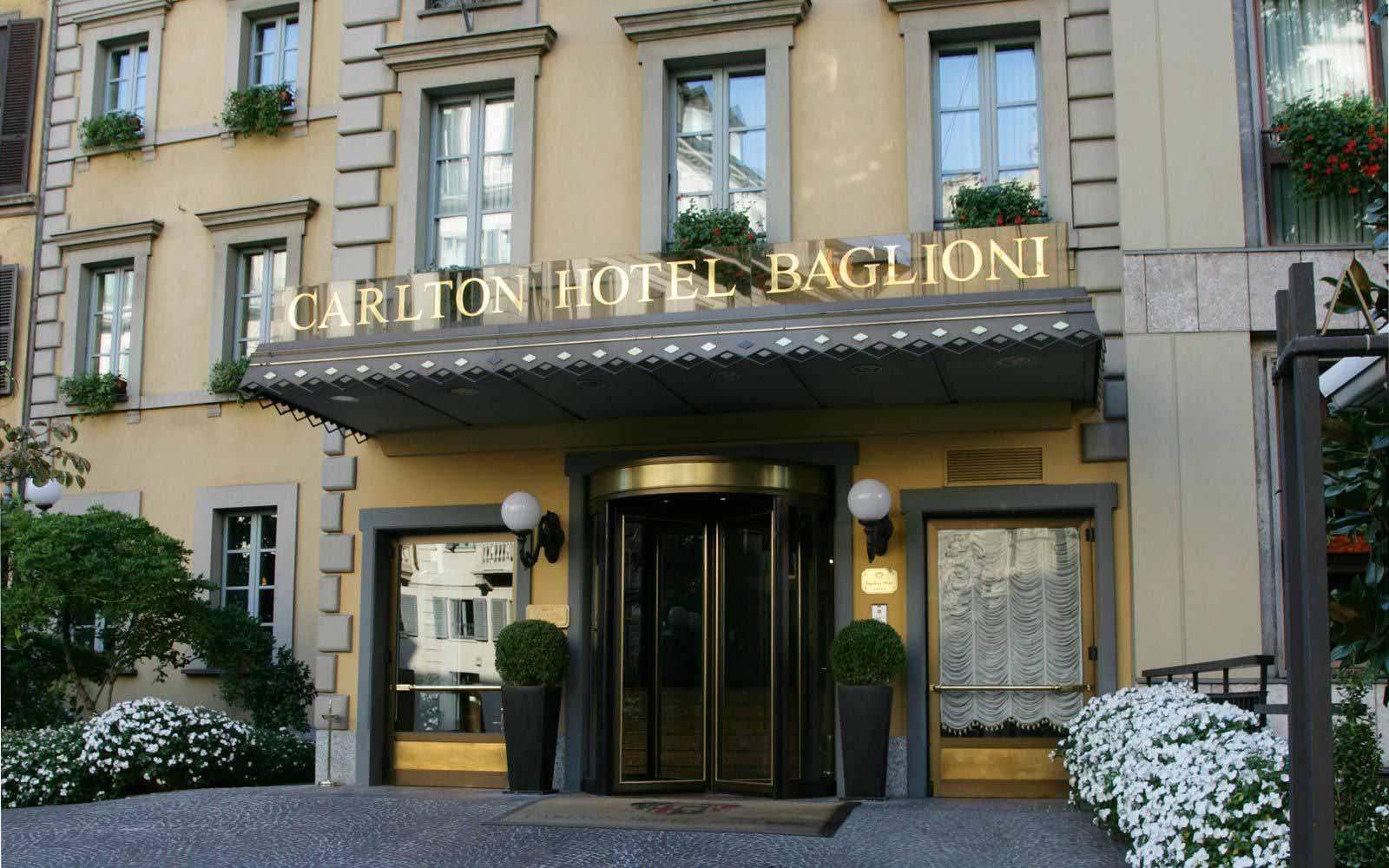 Front of Carlton Hotel Baglioni