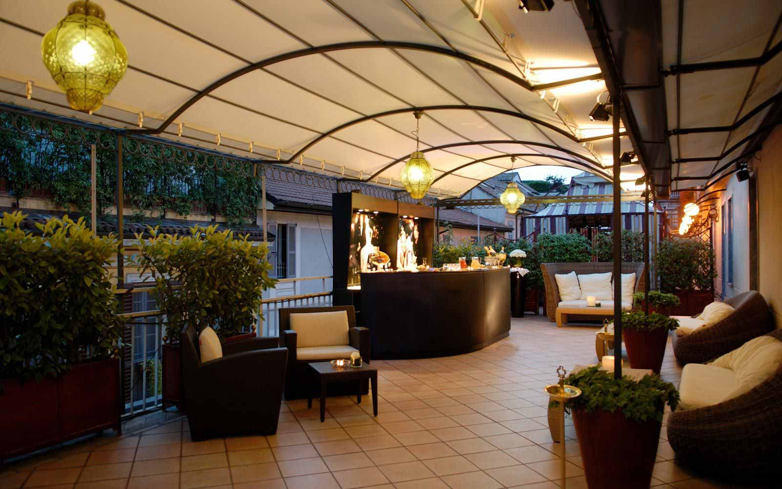 Terrace at Carlton Hotel Baglioni