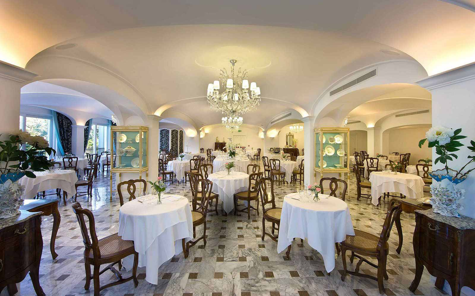 Tiffany Restaurant at the Grand Hotel La Favorita