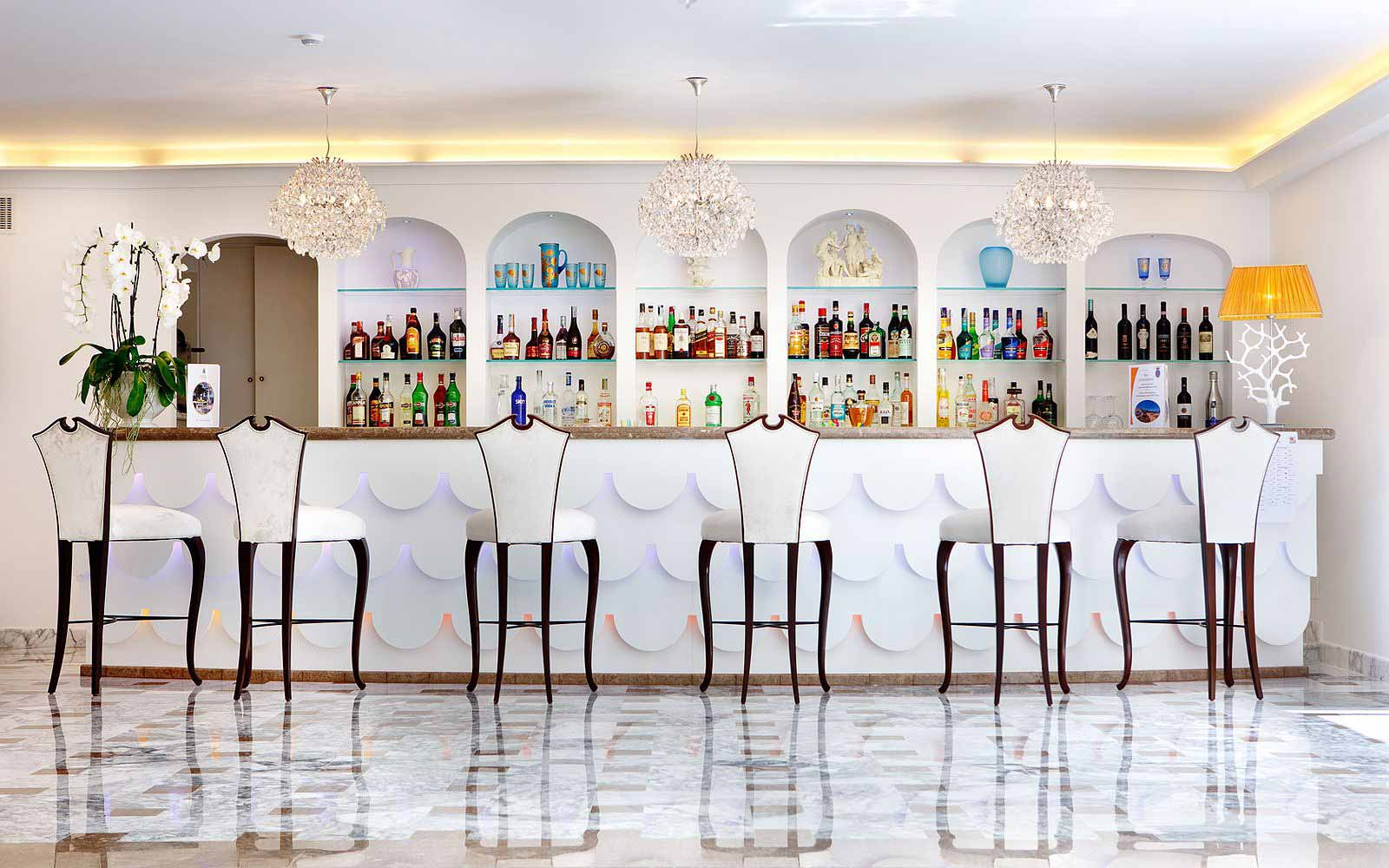 American Bar at the Grand Hotel La Favorita