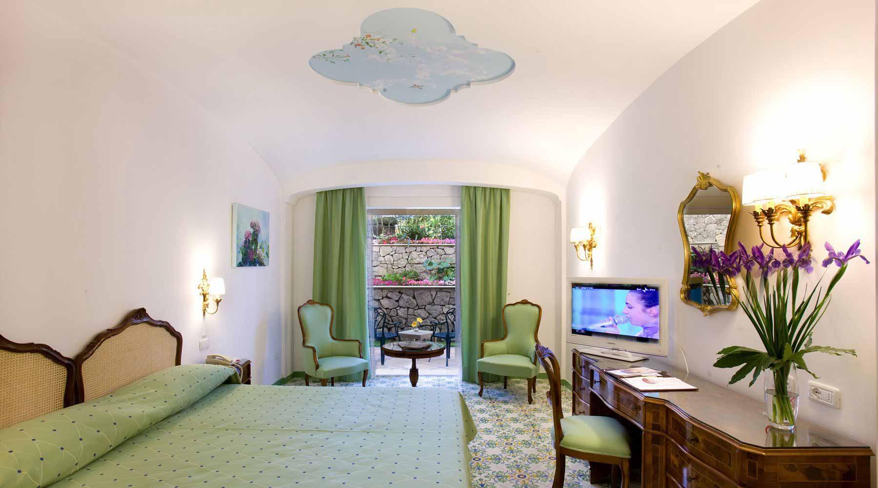 Classic Double Room at the Grand Hotel La Favorita
