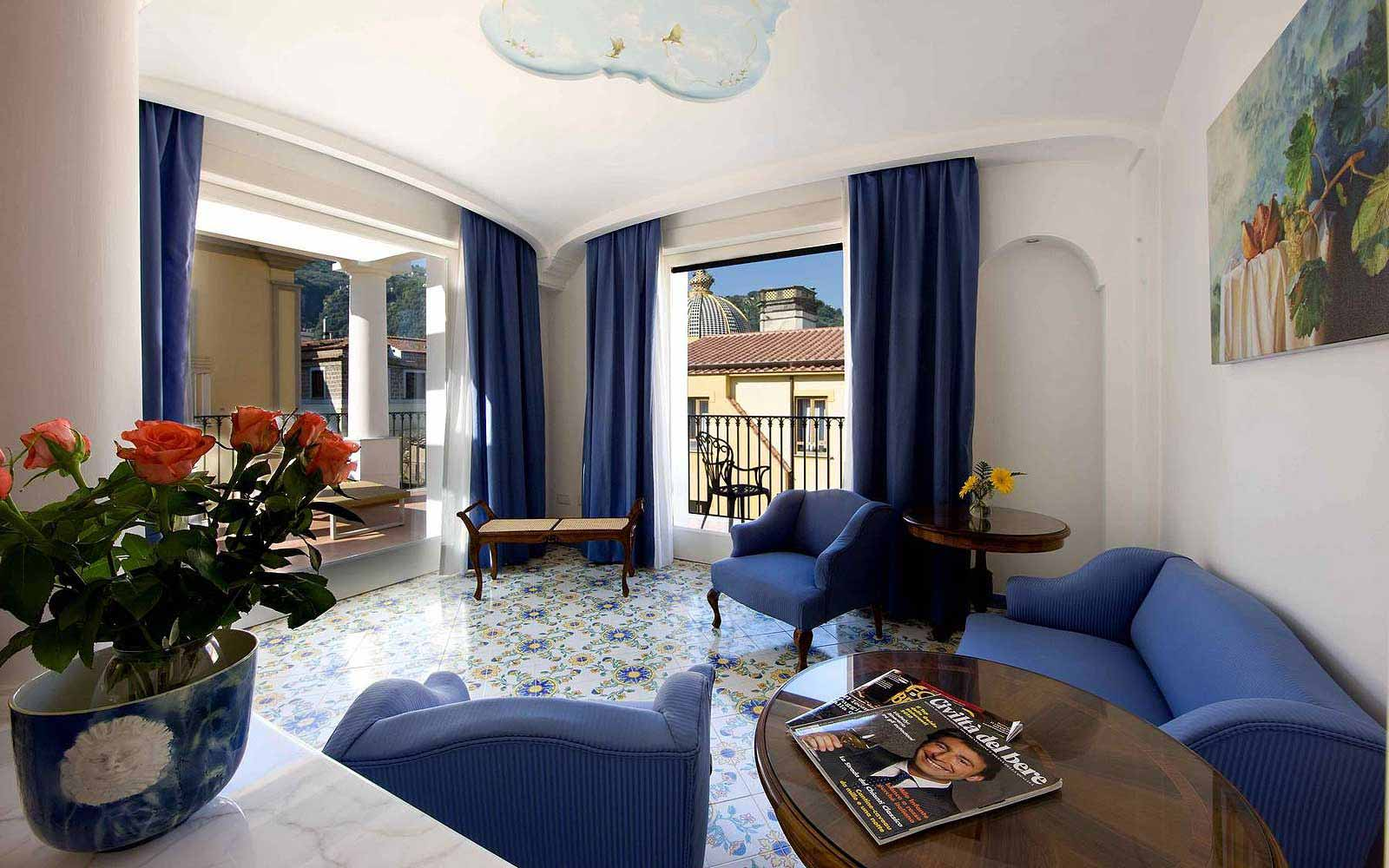 Junior Suite at the Grand Hotel La Favorita