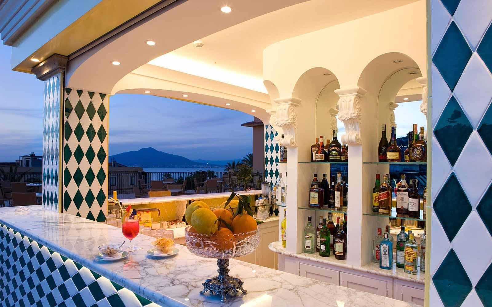 Pool Bar at the Grand Hotel La Favorita