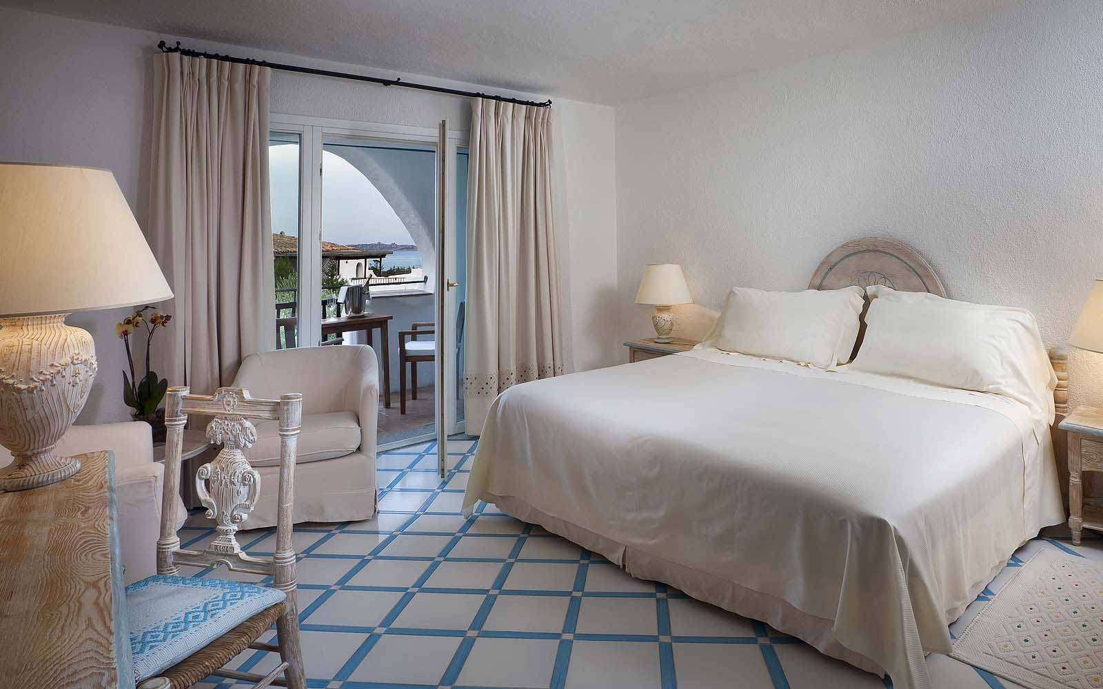A Superior Room at the Hotel Romazzino