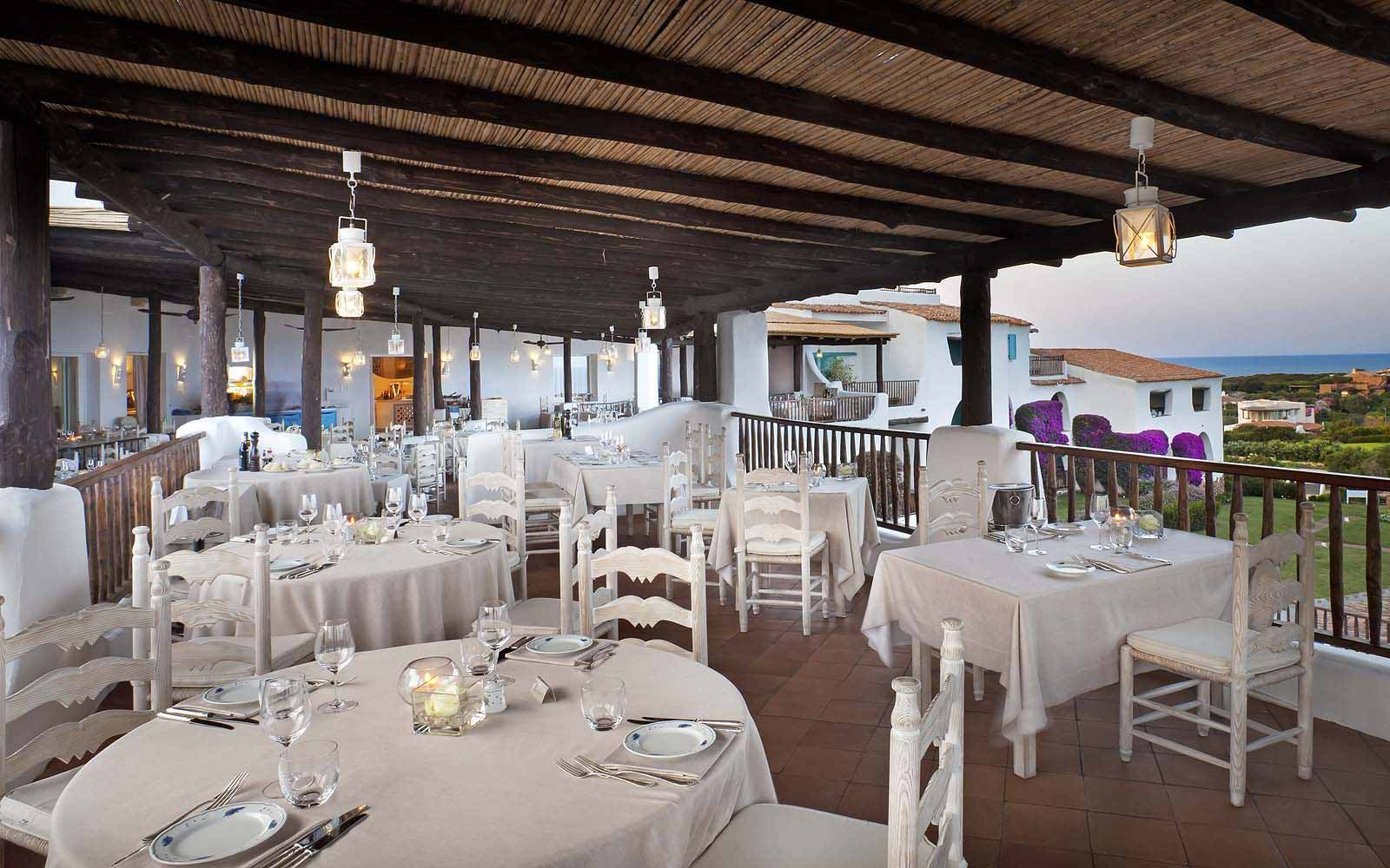 Romazzino Restaurant at the Hotel Romazzino