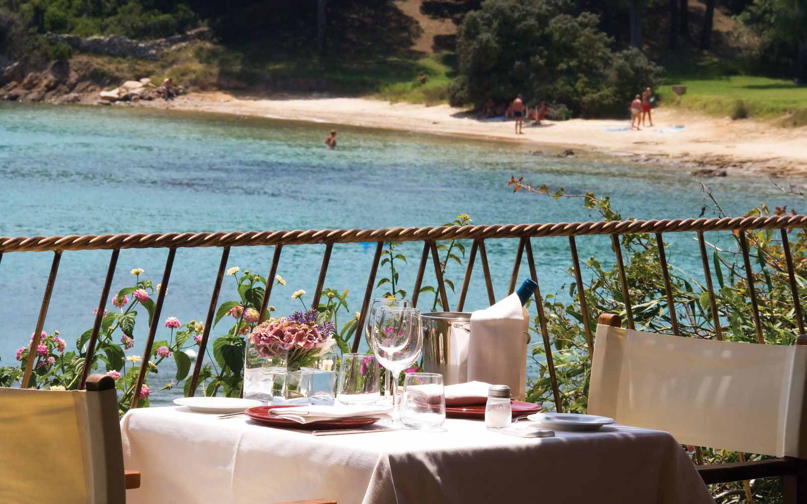 Paguro Restaurant at Hotel Capo D'Orso Thalasso & Spa