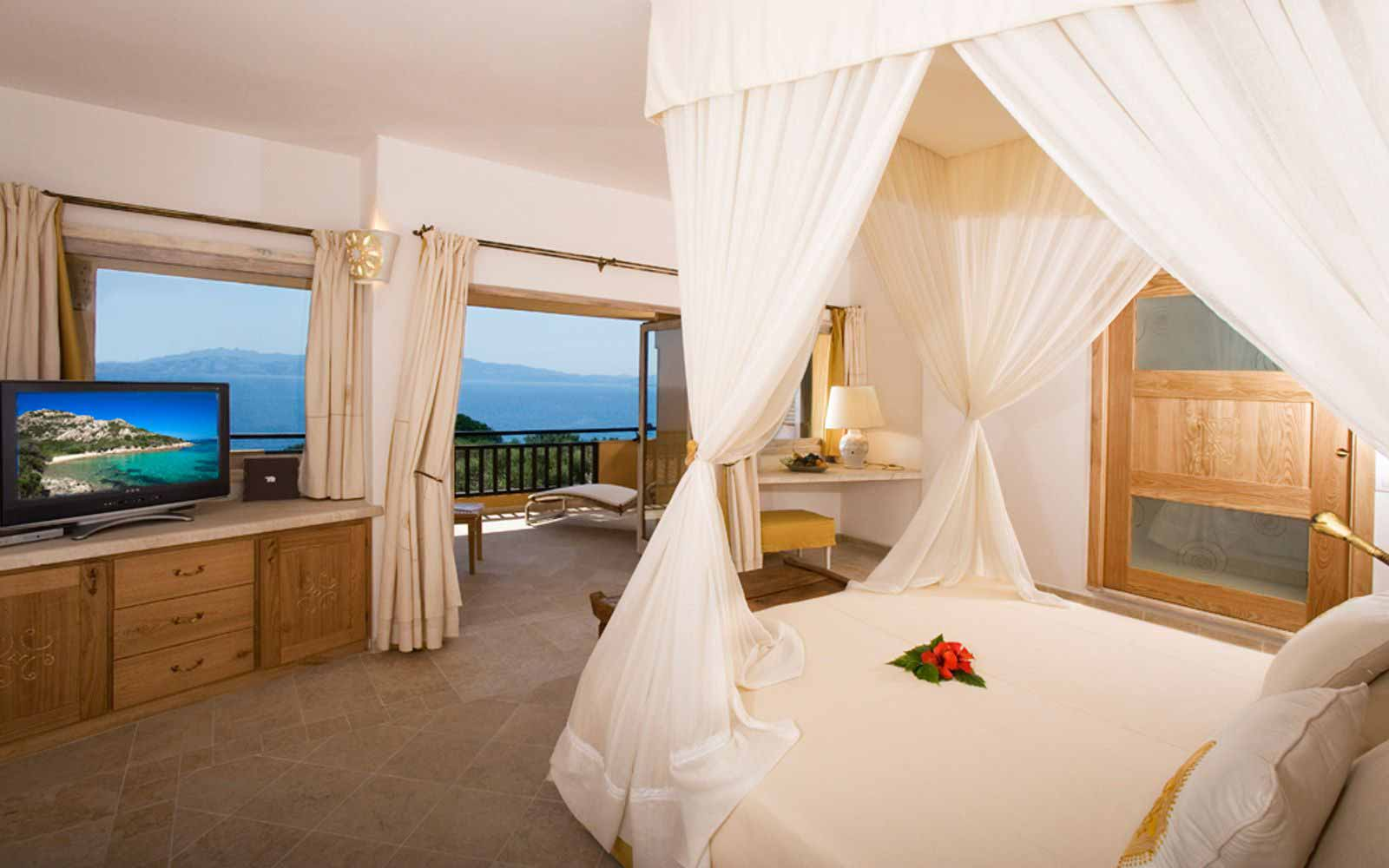 President room at Hotel Capo d'Orso