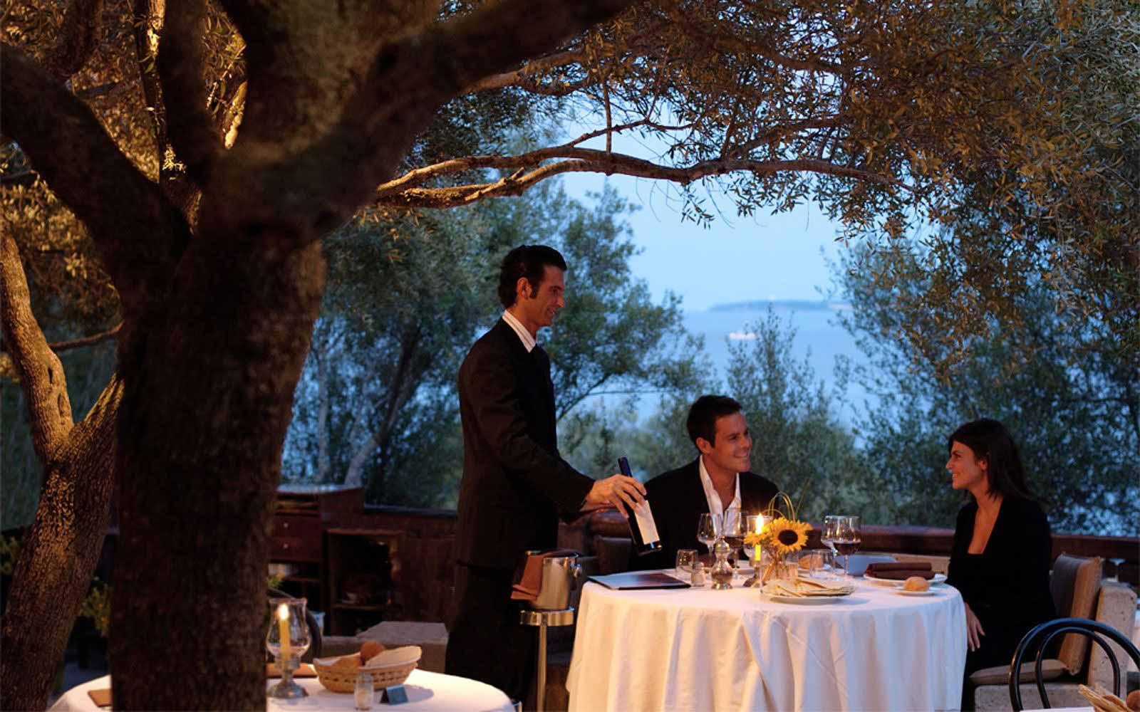 Olivastri Restaurant at Hotel Capo D'Orso Thalasso & Spa