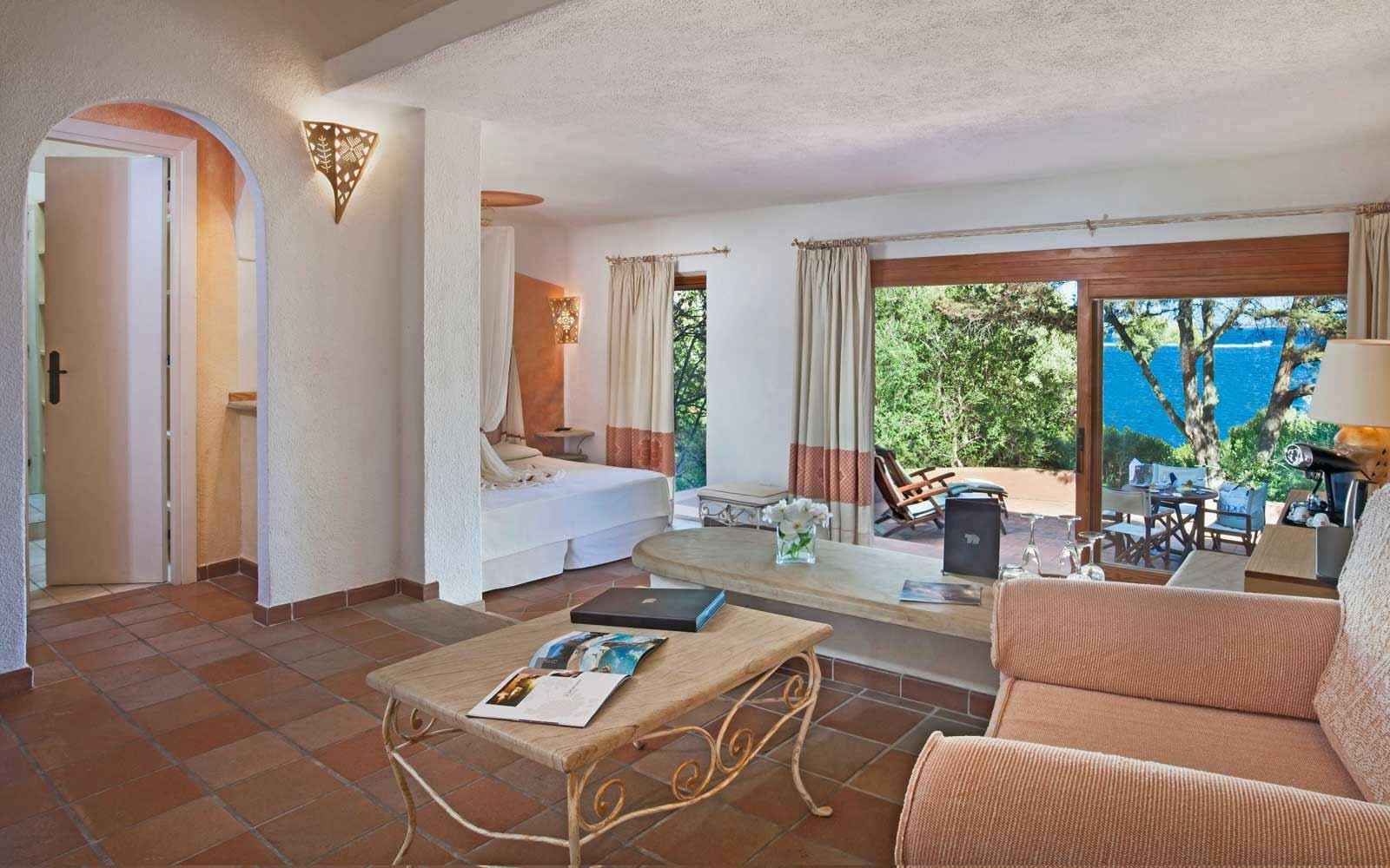 Junior Suite Cardinal at Hotel Capo D'Orso Thalasso & Spa
