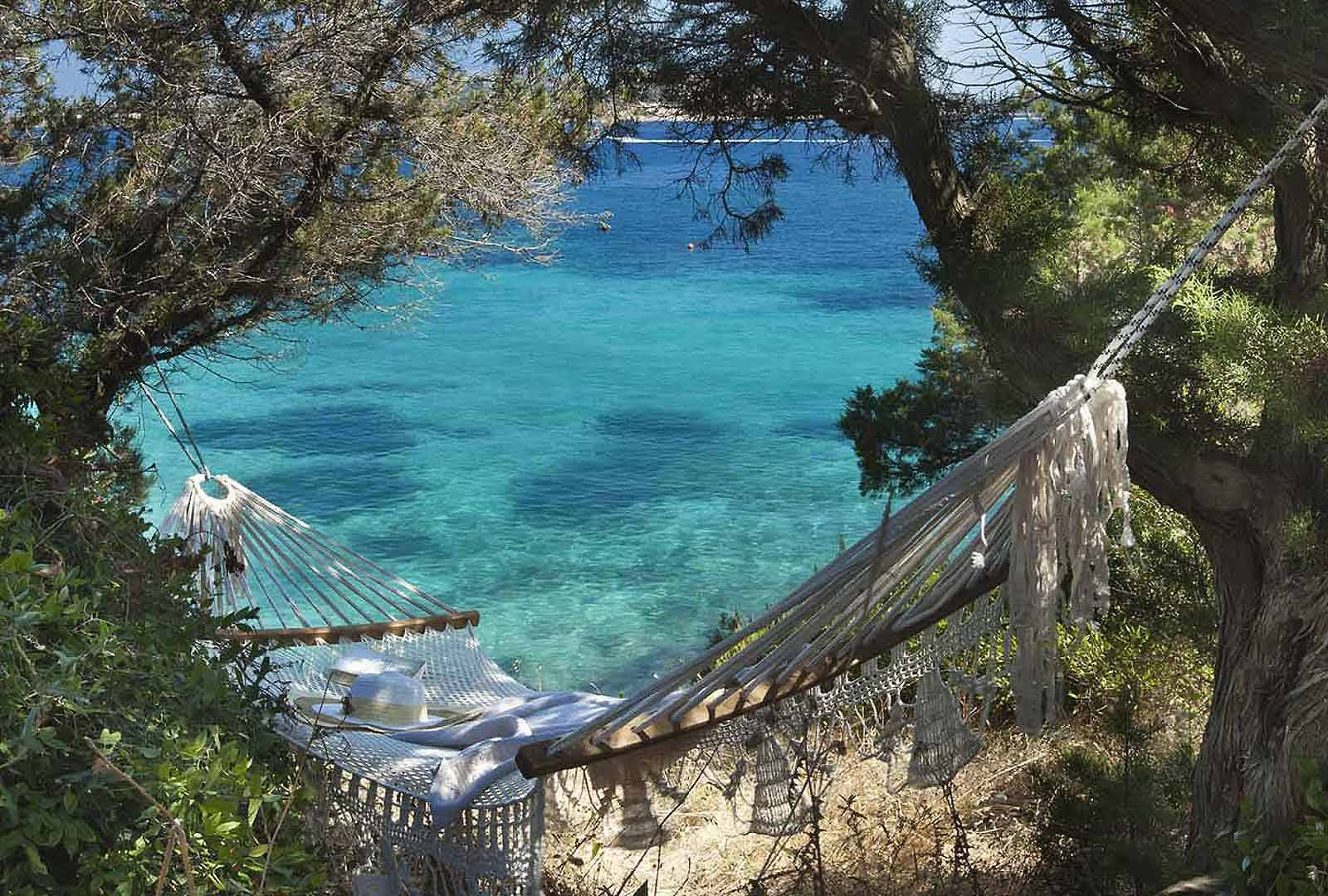 Relax in a secluded area at Hotel Capo D'Orso Thalasso & Spa