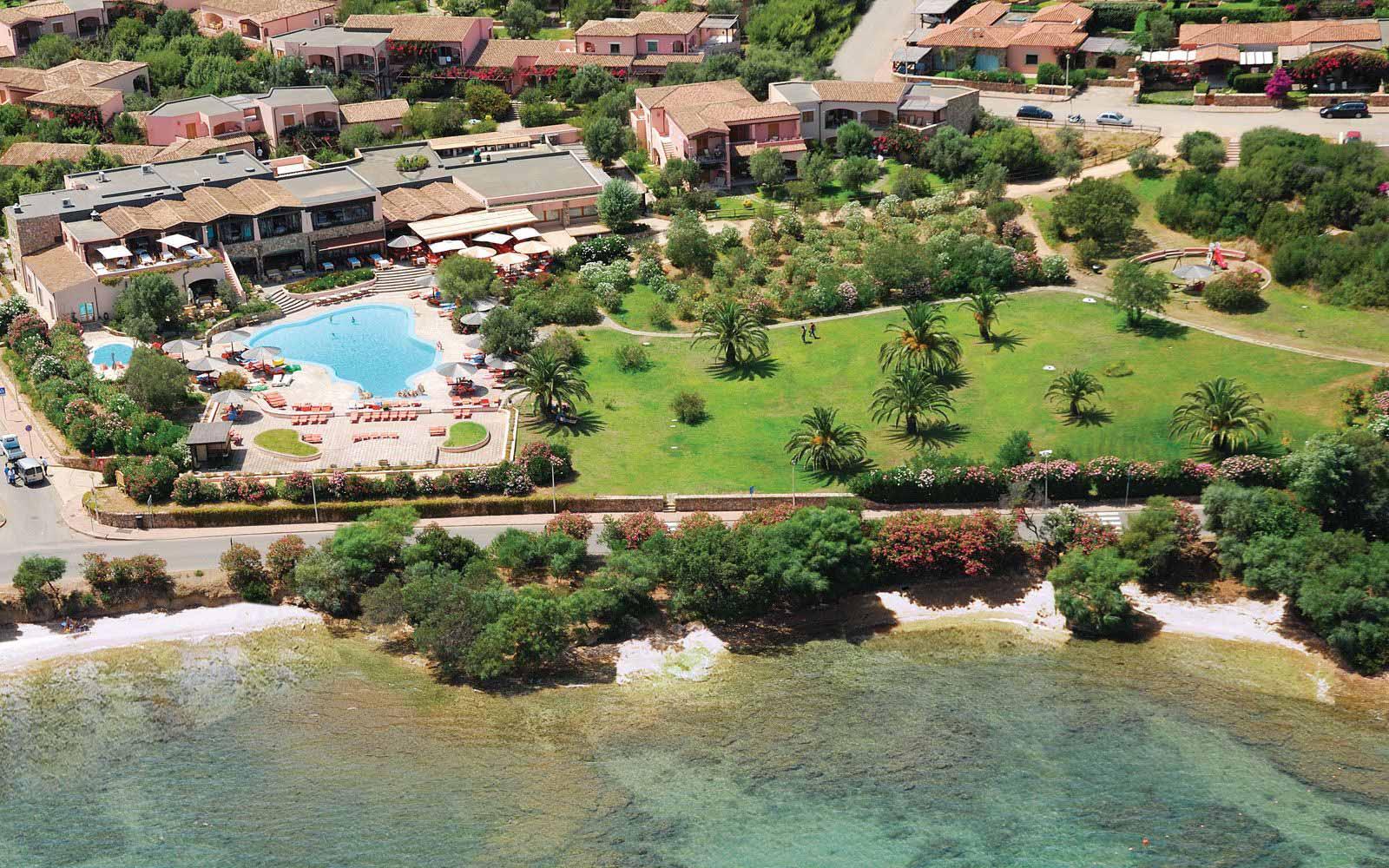 Panoramic view of Resort Cala di Falco