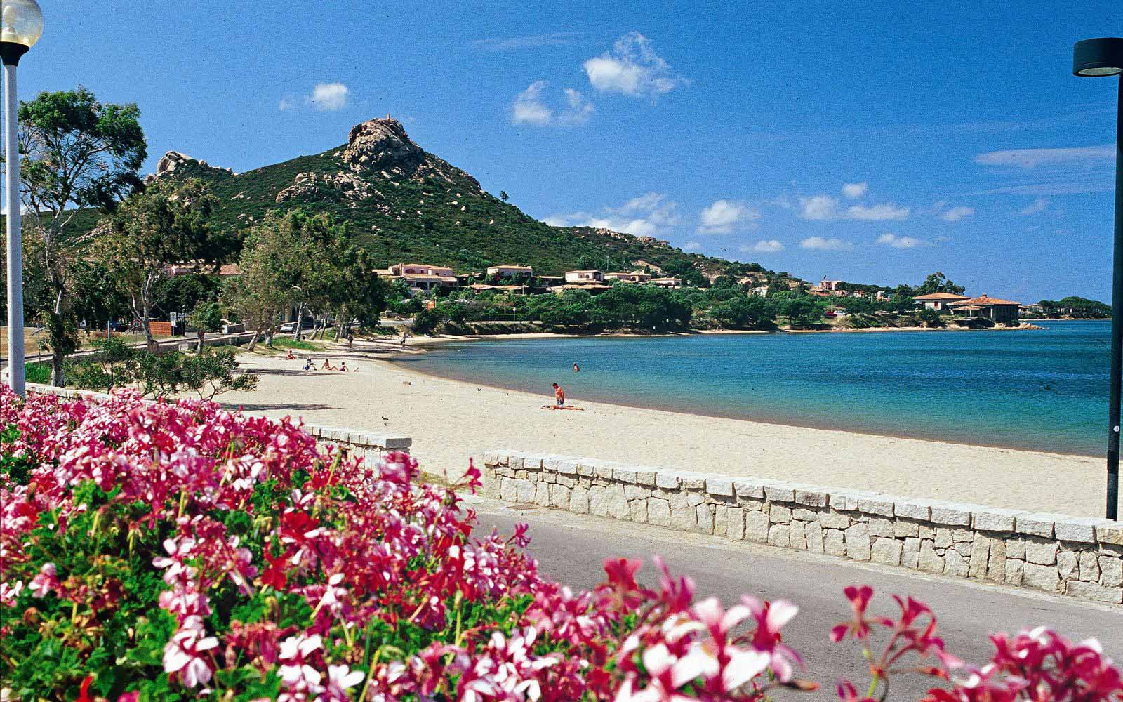 Cannigione beach by Resort Cala Di Falco
