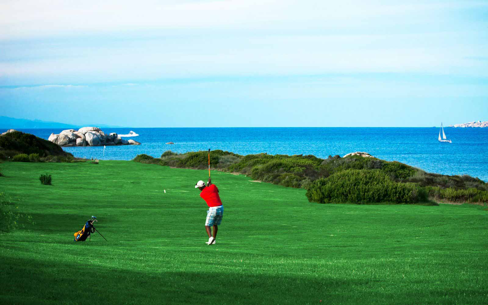 Golfing at Resort Valle Dell'Erica Thalasso & Spa