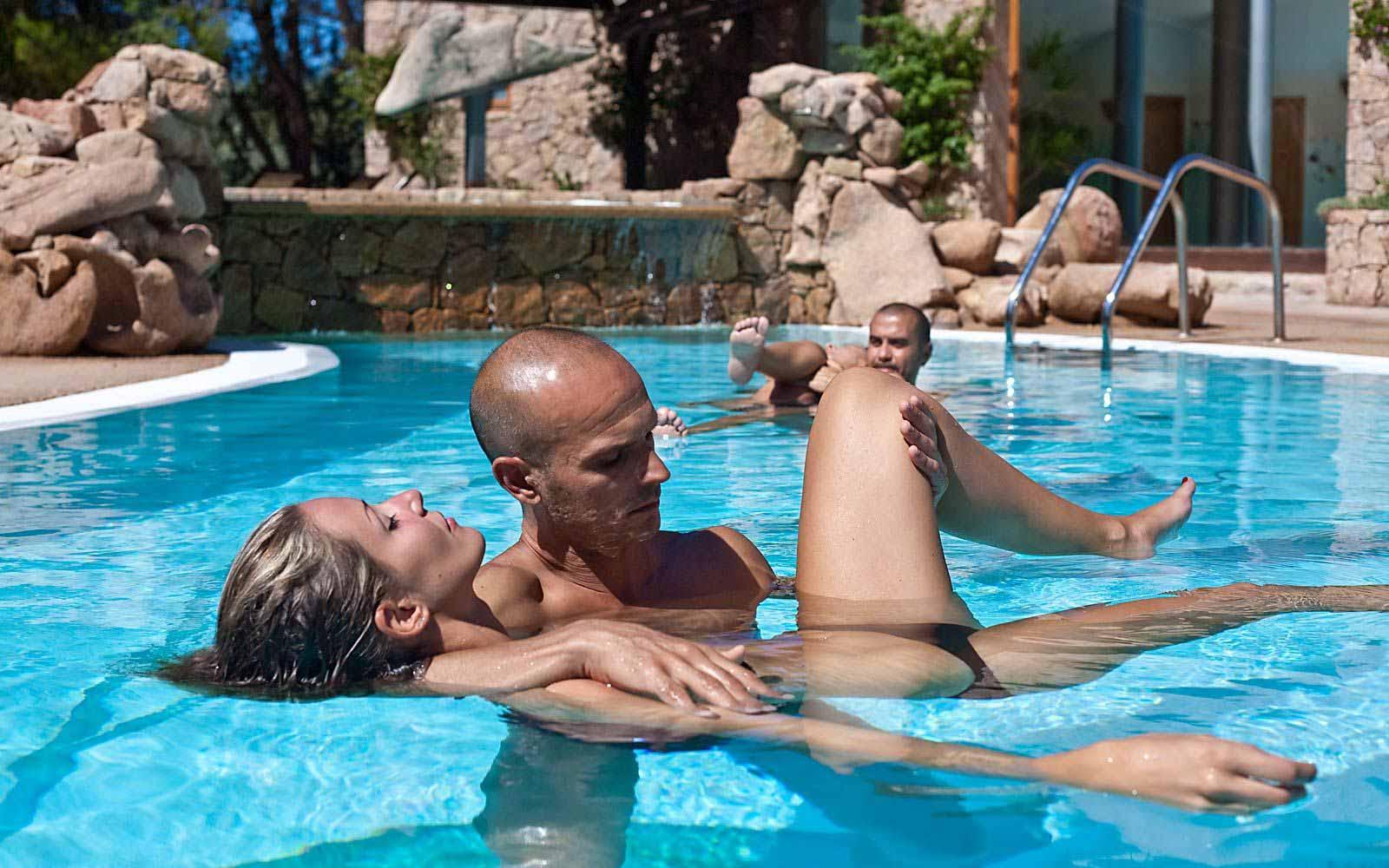 Watsu at Hotel Marinedda Thalasso & Spa