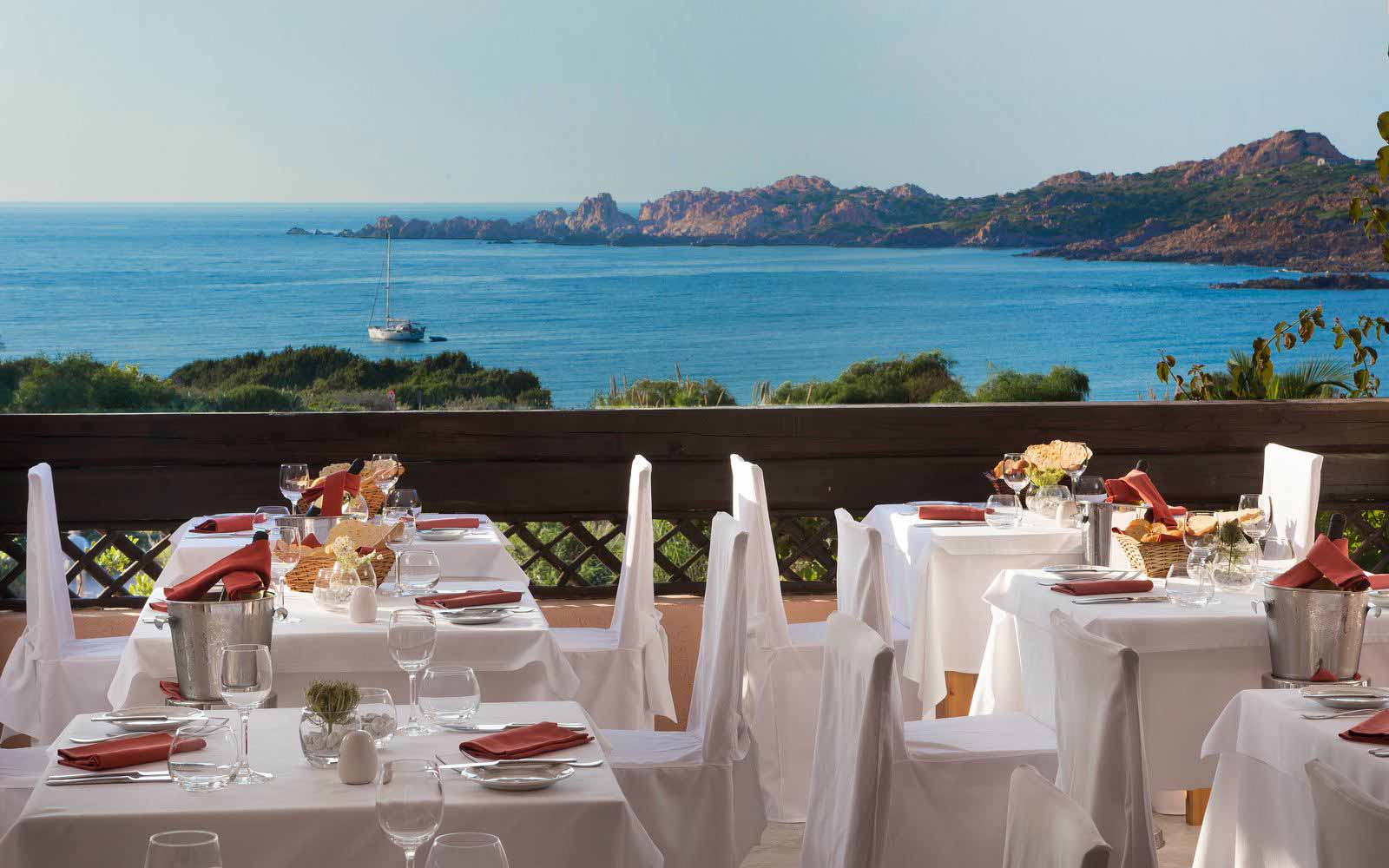 Canneddi Restaurant at Hotel Marinedda Thalasso & Spa