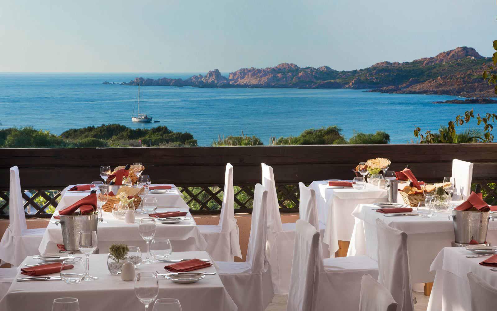 Canneddi Restaurant at Hotel Marinedda Thalasso & Spa