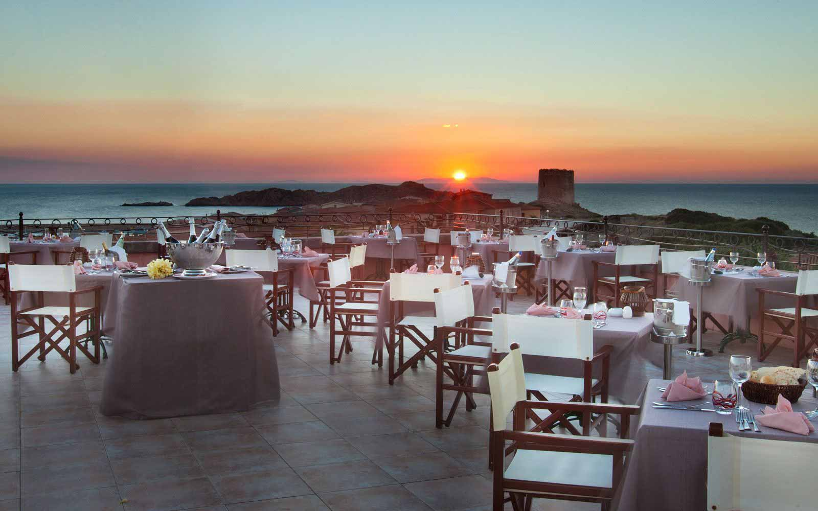 Sotto Le Stelle restaurant at Hotel Relax Torreruja Thalasso & Spa