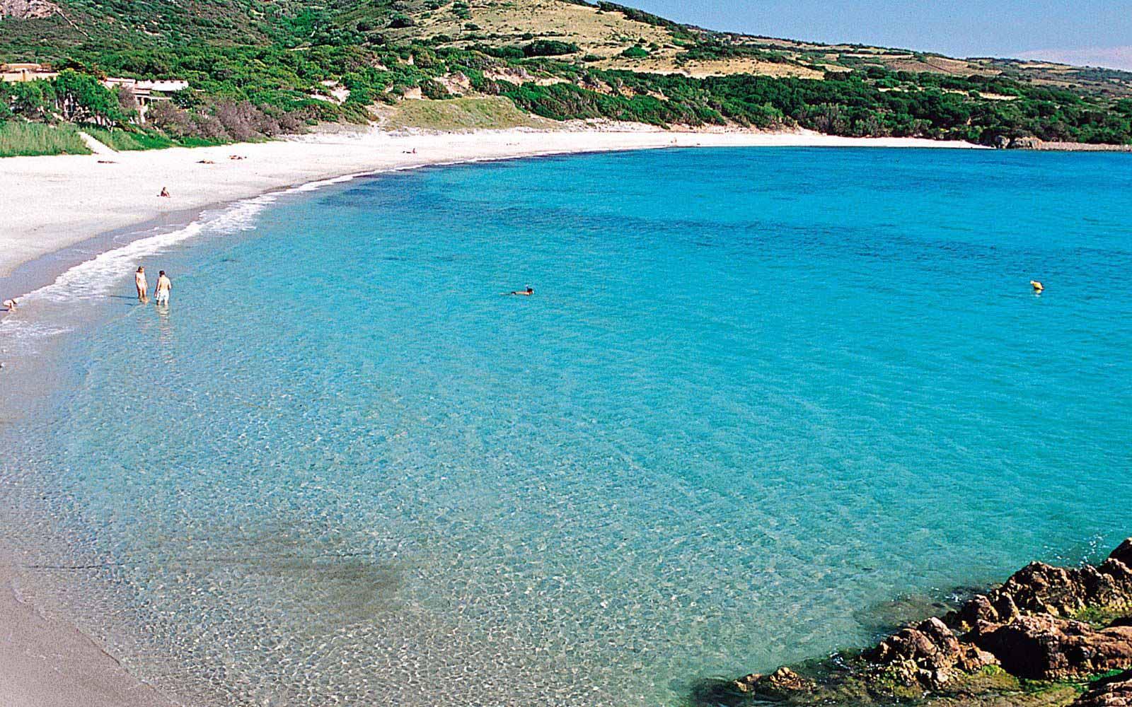 Isola Rossa beach near Hotel Relax Torreruja Thalasso & Spa