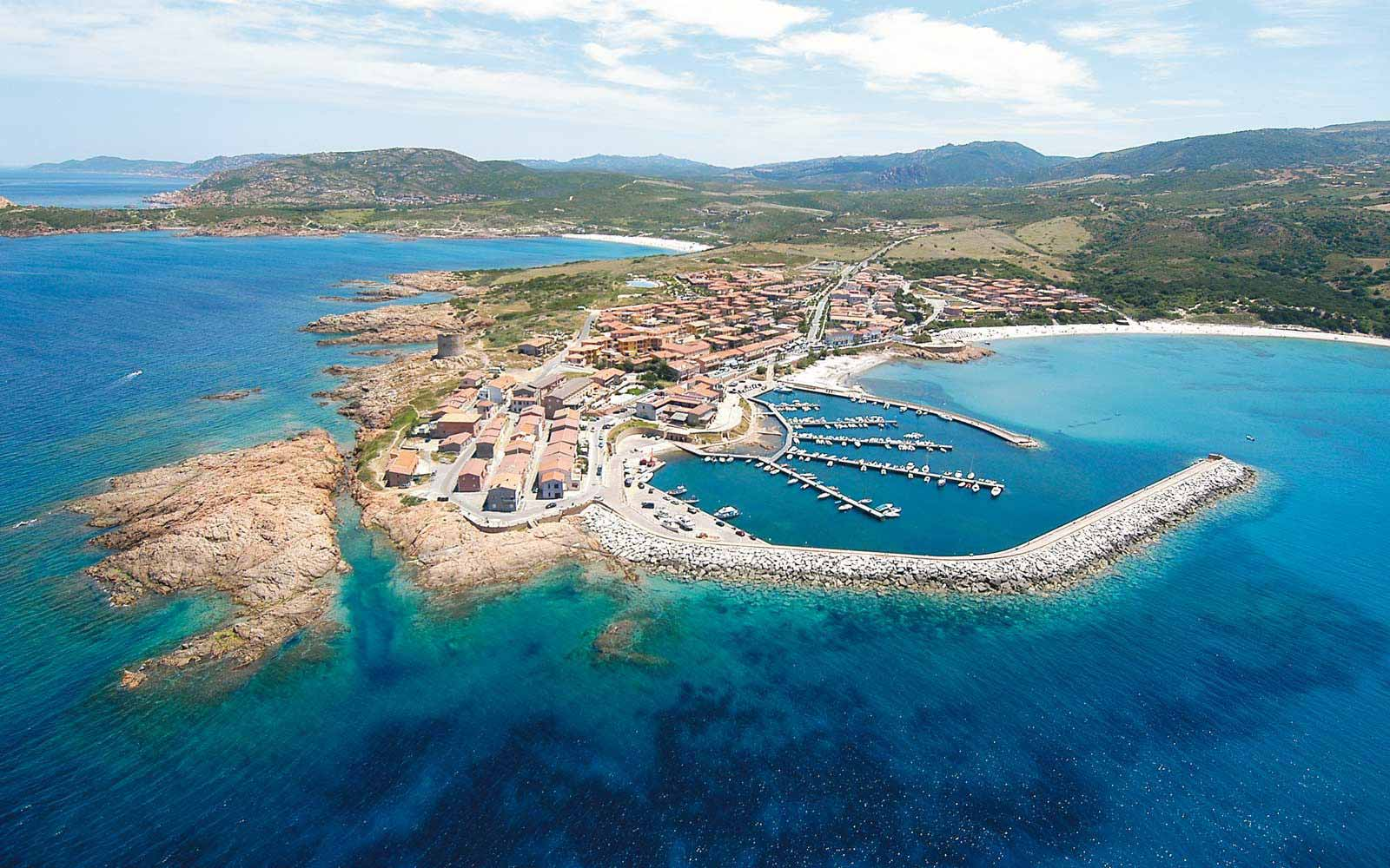 Aerial view over Hotel Relax Torreruja Thalasso & Spa
