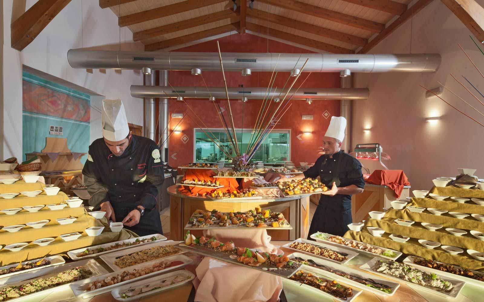 Il Leccio Restaurant at  Resort & Spa Le Dune - Hotel & Spa Le Sabine