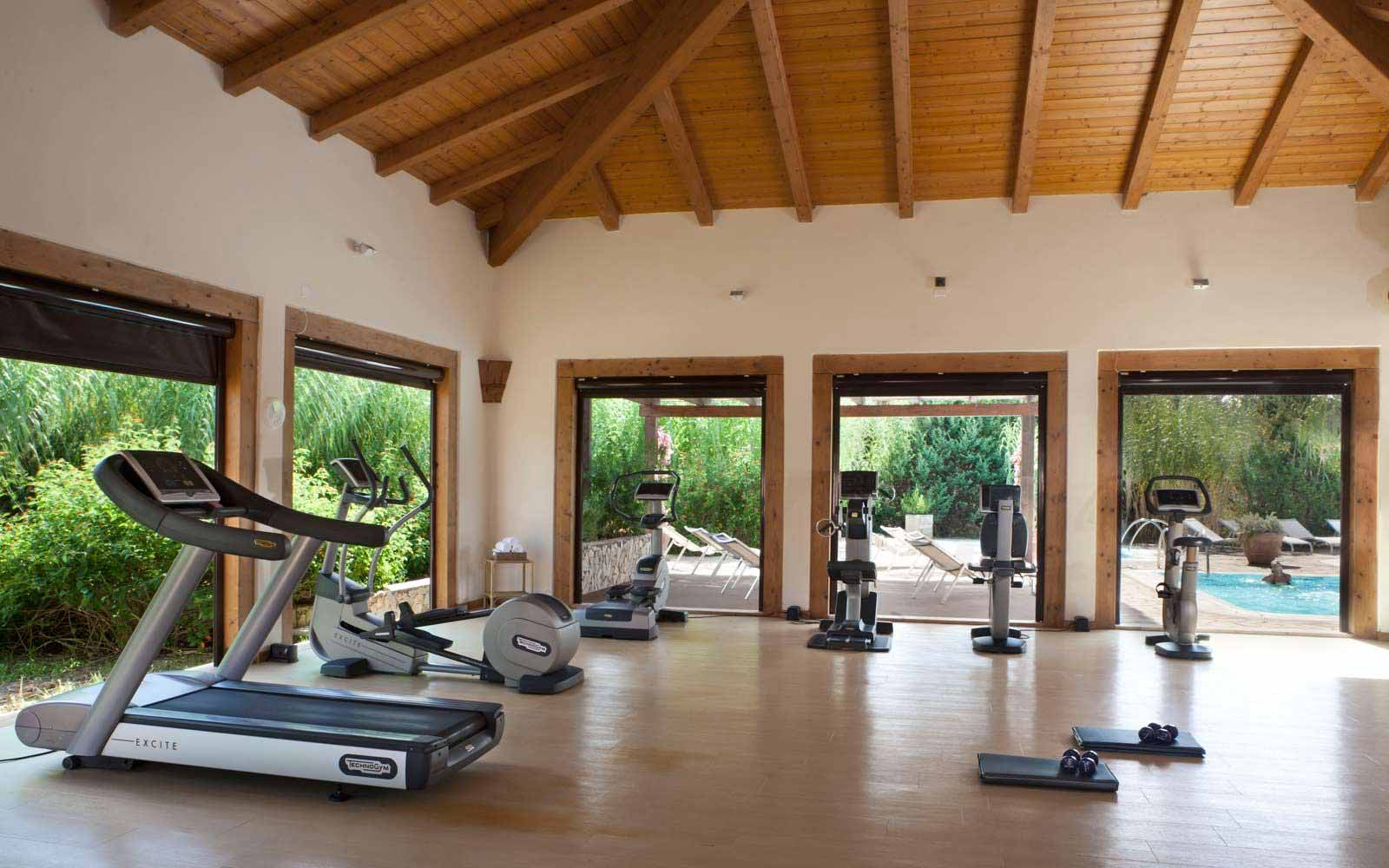 Fitness room at Resort & Spa Le Dune - Hotel & Spa Le Sabine