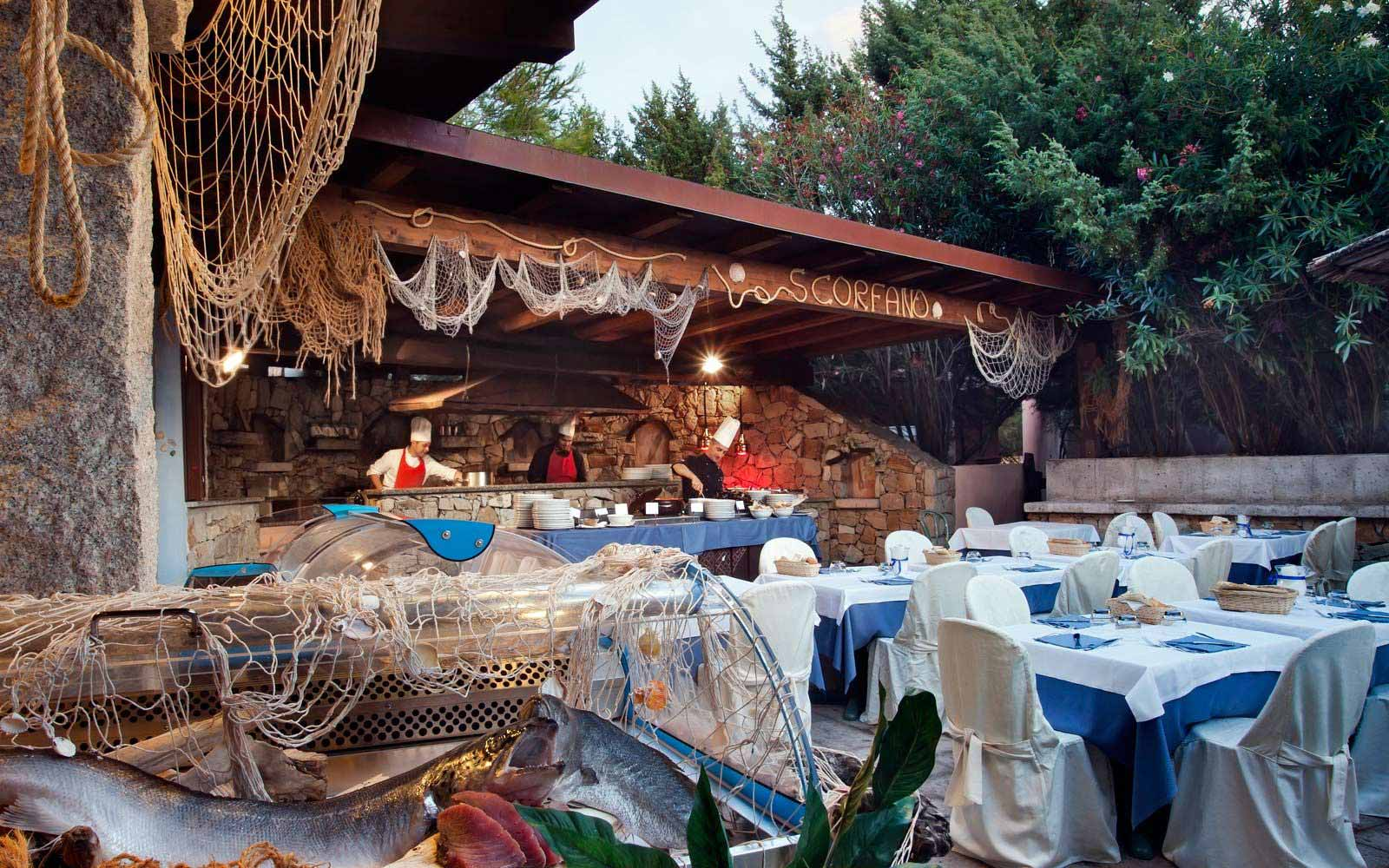 Scorfano Restaurant at Hotel Duna Bianca