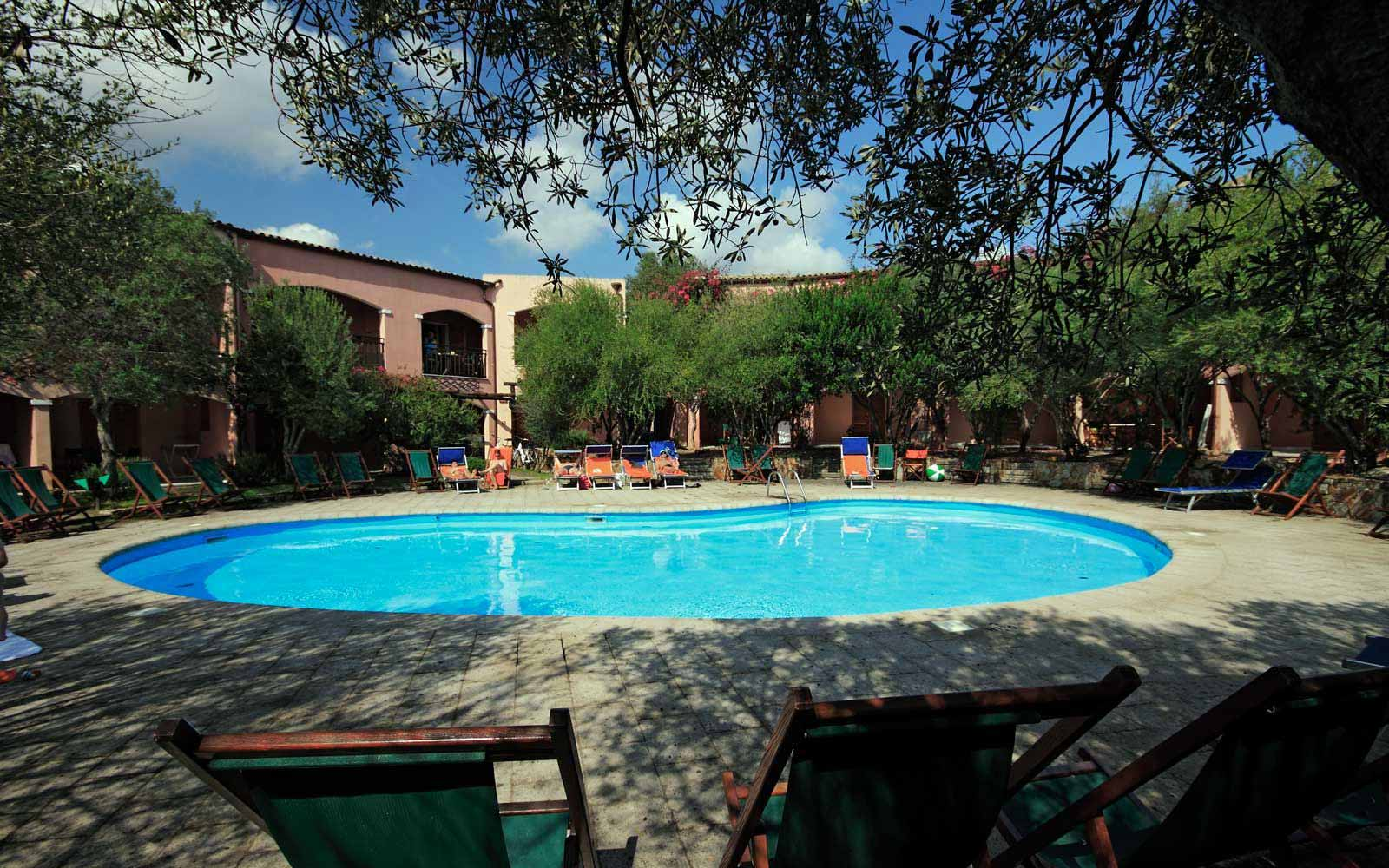Swimming pool at Resort Cala Di Falco La Rotonda Residence