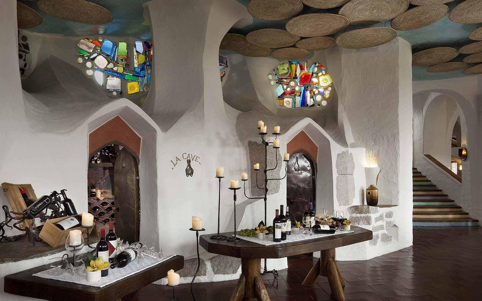 La Cave Wine Cellar at the Hotel Cala di Volpe
