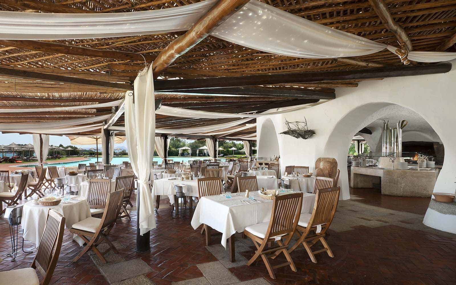Barbecue Restaurant at the Hotel Cala di Volpe
